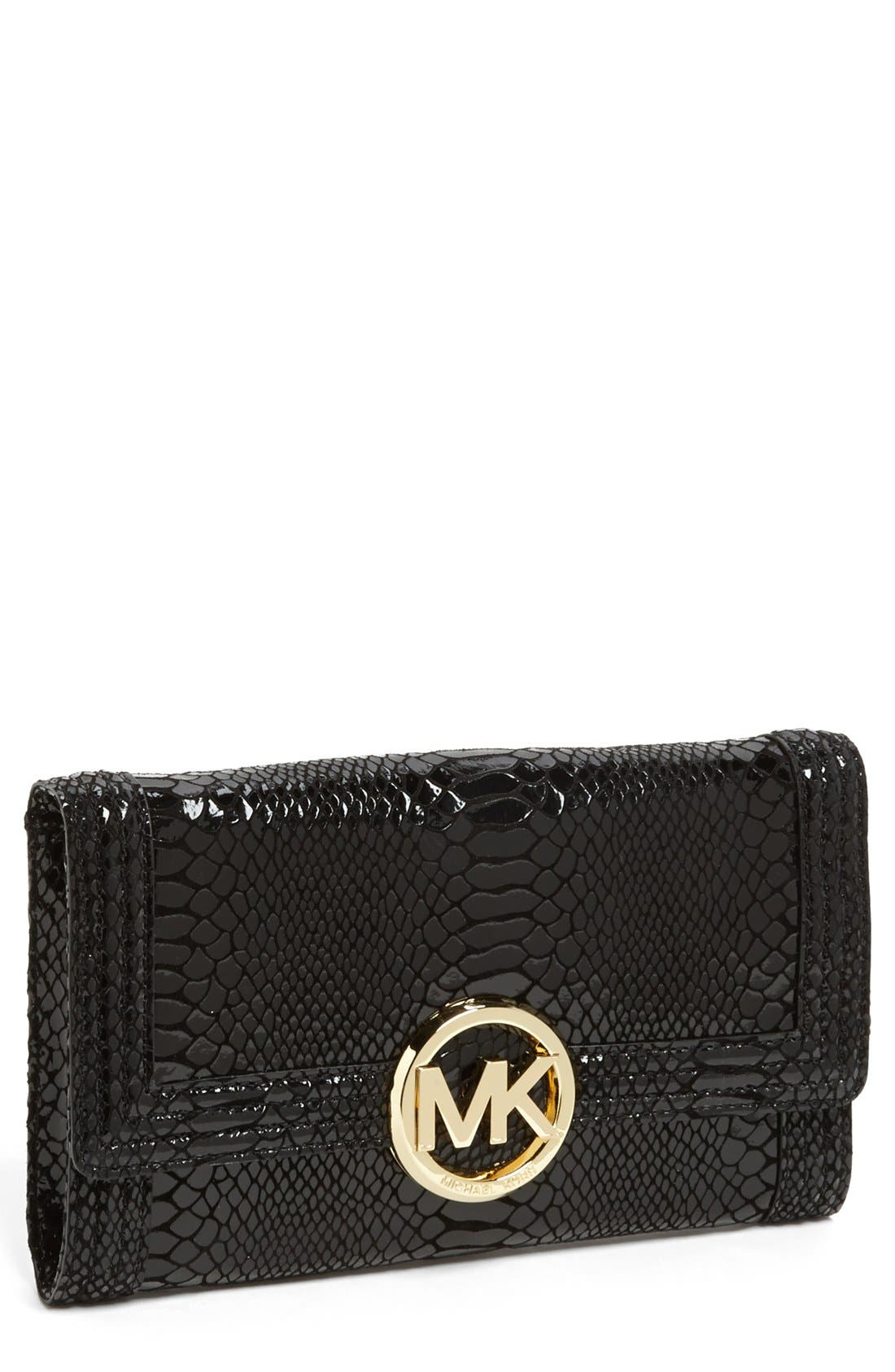 Alternate Image 1 Selected - MICHAEL Michael Kors 'Fulton Bombe' Clutch