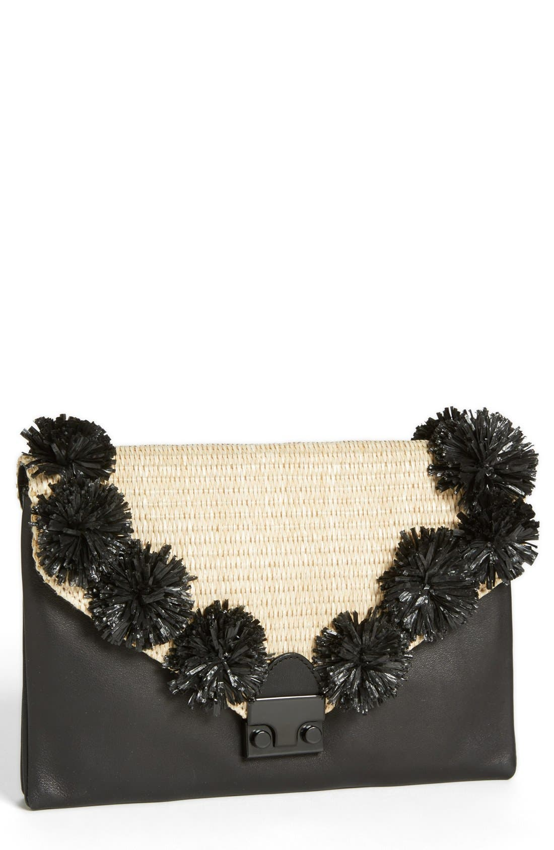 Alternate Image 1 Selected - Loeffler Randall 'Lock' Clutch