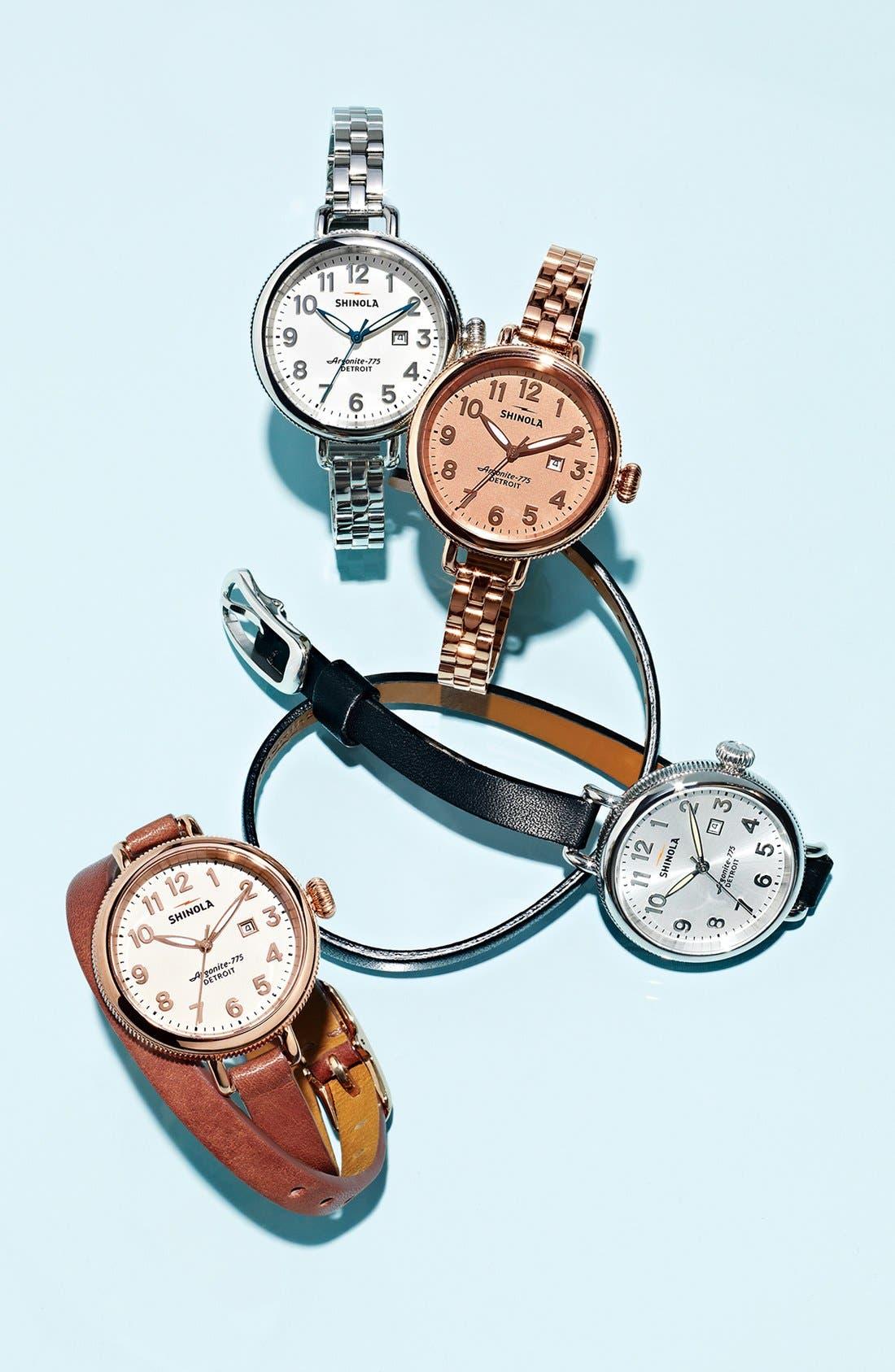 Alternate Image 6  - Shinola 'The Birdy' Bracelet Watch, 34mm