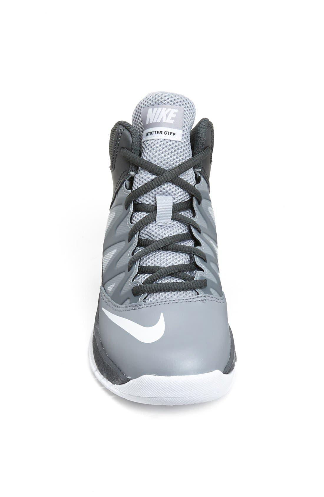 Alternate Image 3  - Nike 'Stutter Step' Basketball Shoe (Toddler & Little Kid)