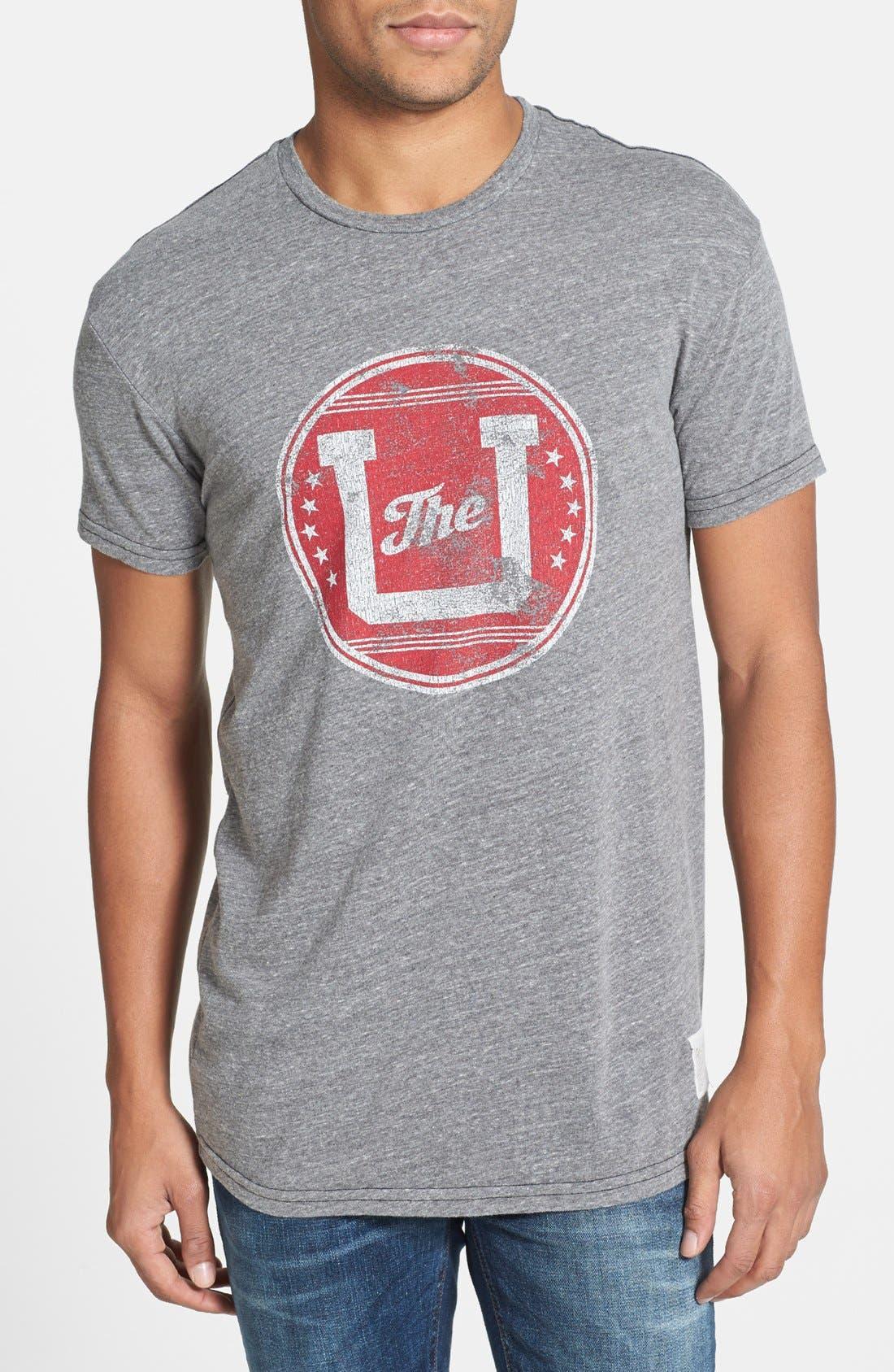 Alternate Image 1 Selected - Retro Brand 'The U - University of Utah' Graphic T-Shirt