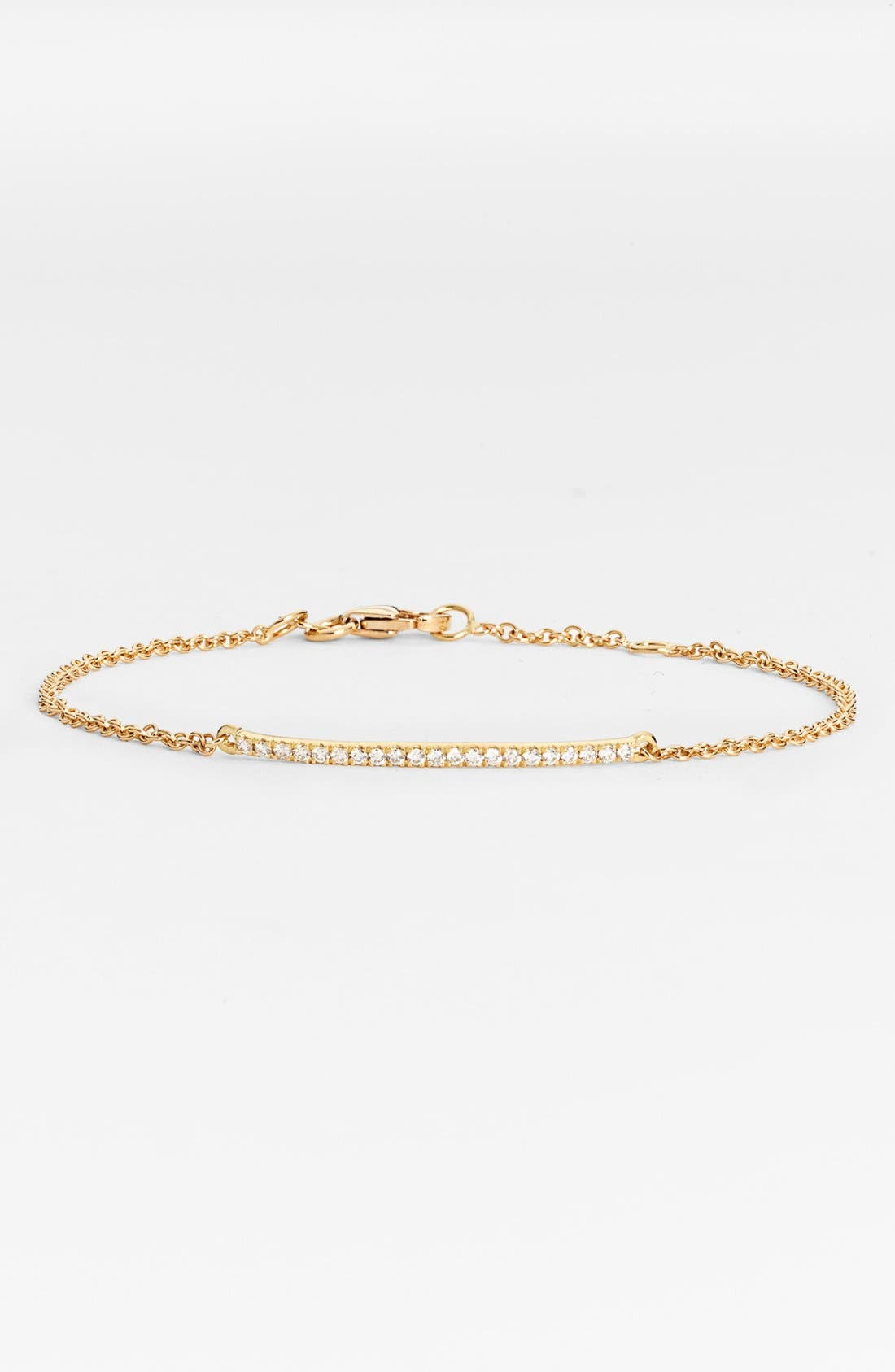 Alternate Image 1 Selected - Bony Levy Diamond Bar Bracelet (Nordstrom Exclusive)