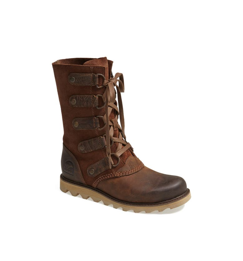 Sorel Scotia Lace Up Waterproof Leather Boot Women