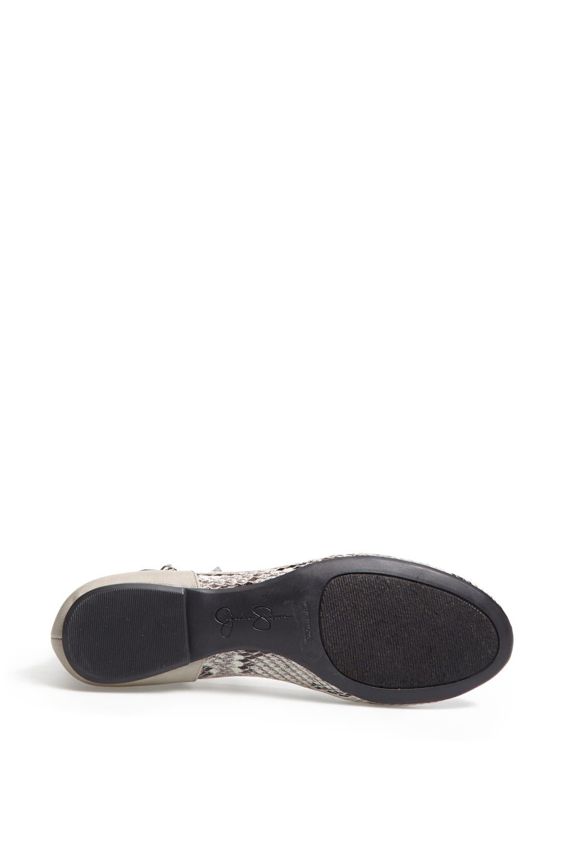 Alternate Image 4  - Jessica Simpson 'Munney' Studded Ankle Strap Flat