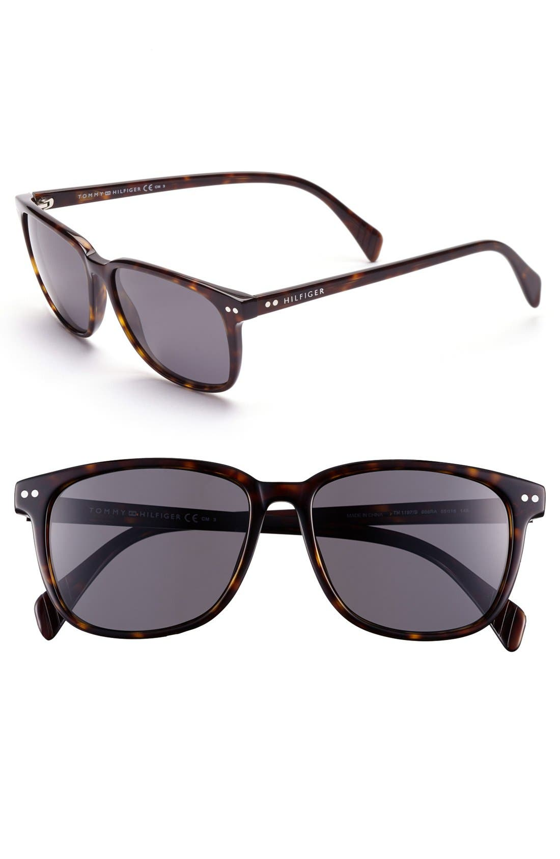 Alternate Image 1 Selected - Tommy Hilfiger 55mm Retro Sunglasses