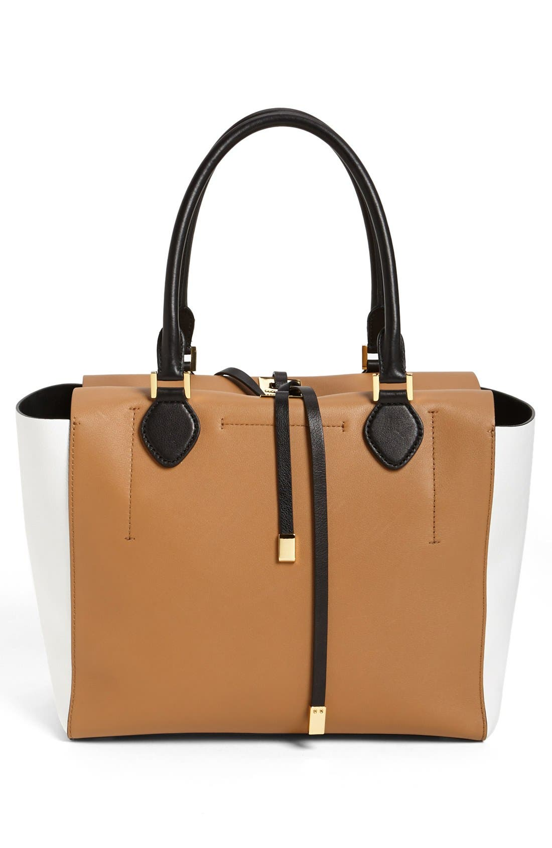 Alternate Image 4  - Michael Kors 'Large Miranda' Colorblock Calfskin Tote