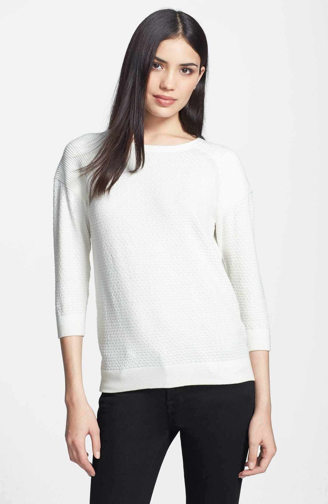 Alternate Image 1 Selected - MARC BY MARC JACOBS 'Veronica' Stretch Sweater
