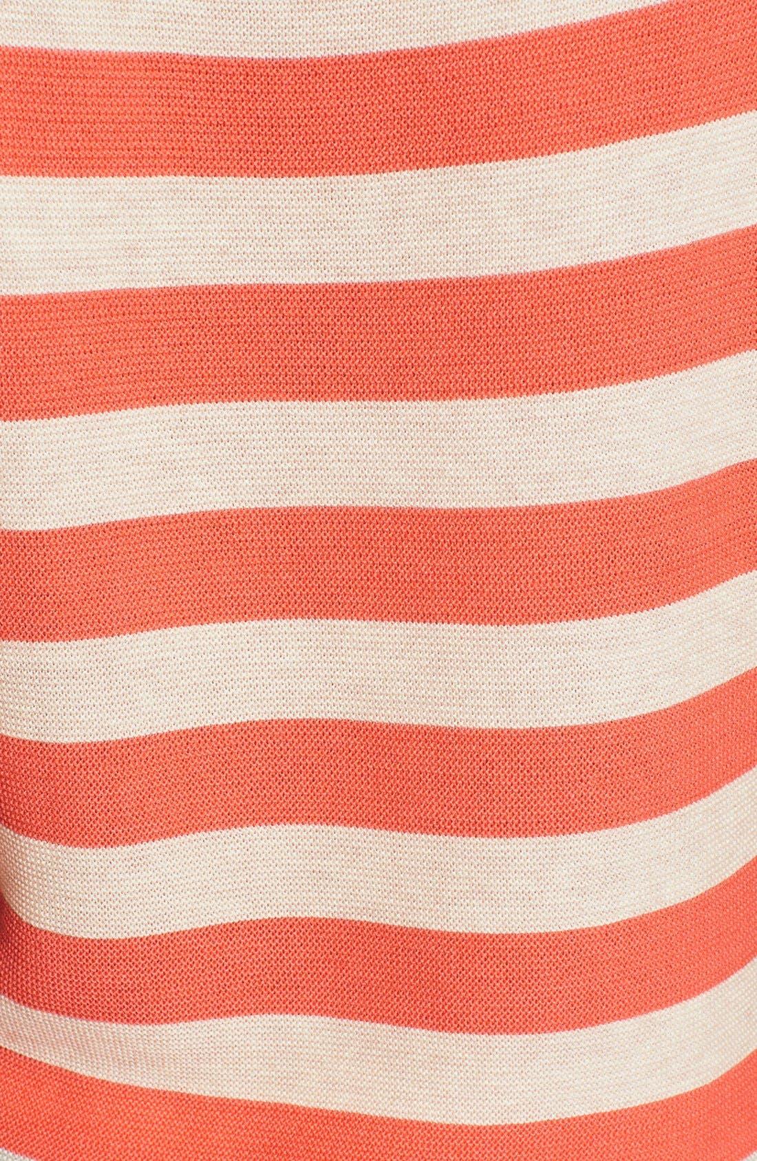 Alternate Image 3  - Halogen® Stripe Boatneck Sweater