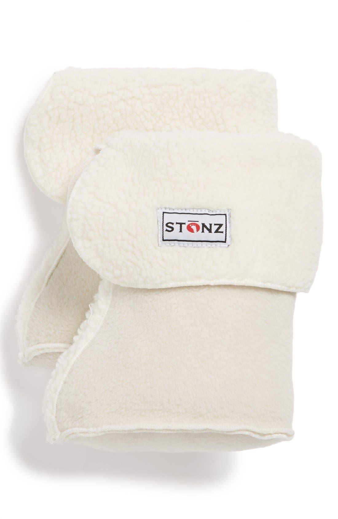 Main Image - Stonz 'Linerz' Fleece Bootie Liners (Baby & Walker)