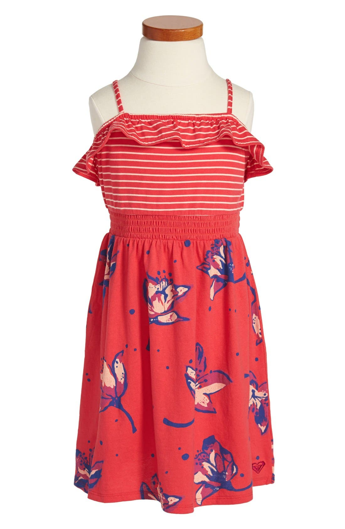 Main Image - Roxy 'Sweet Escape' Dress (Little Girls)