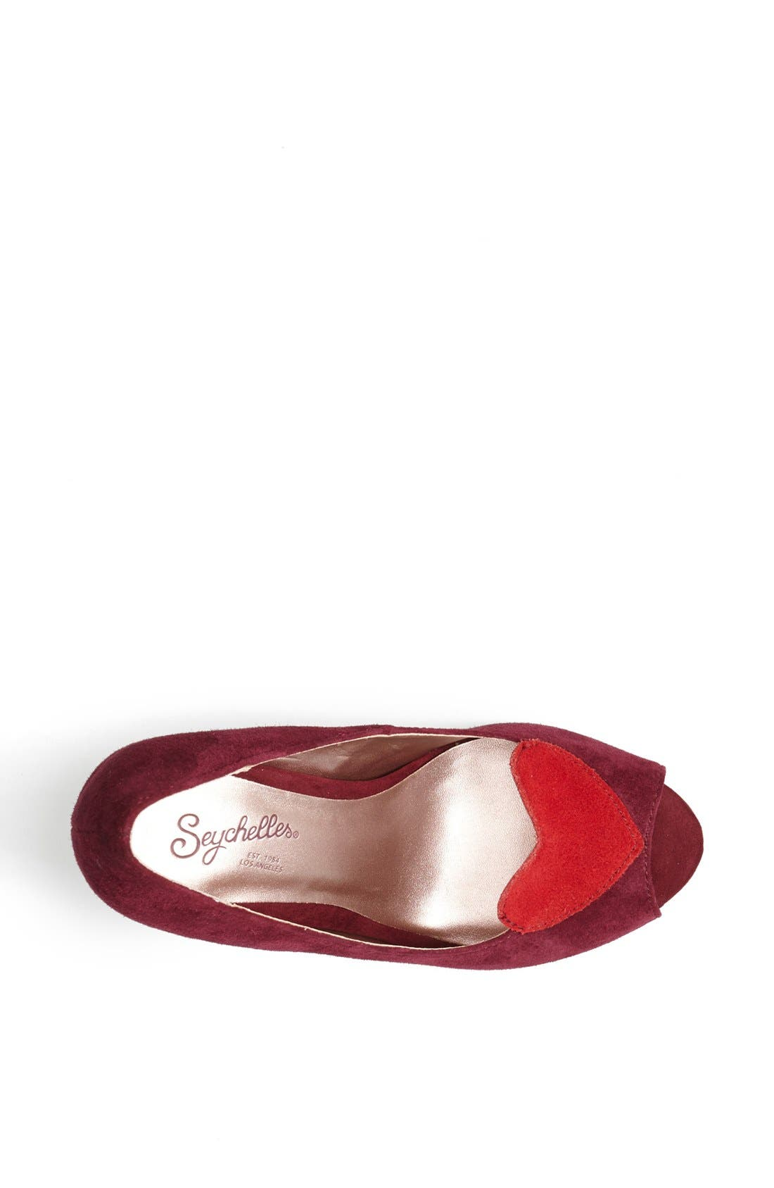 Alternate Image 3  - Seychelles 'Ready for Anything' Heart Appliqué Pump