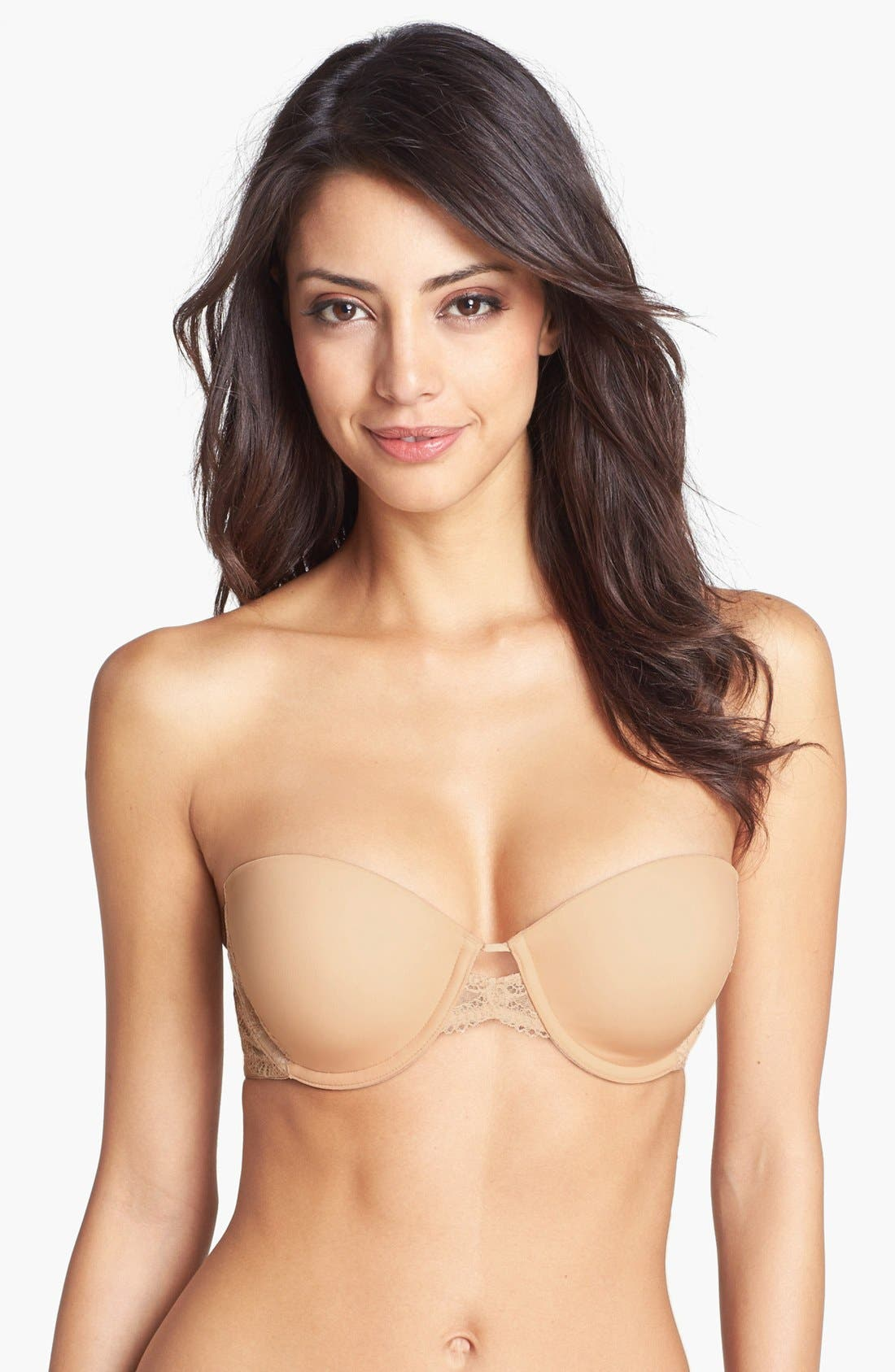 Alternate Image 2  - DKNY 'Seductive Lights' Convertible Padded Underwire Bra