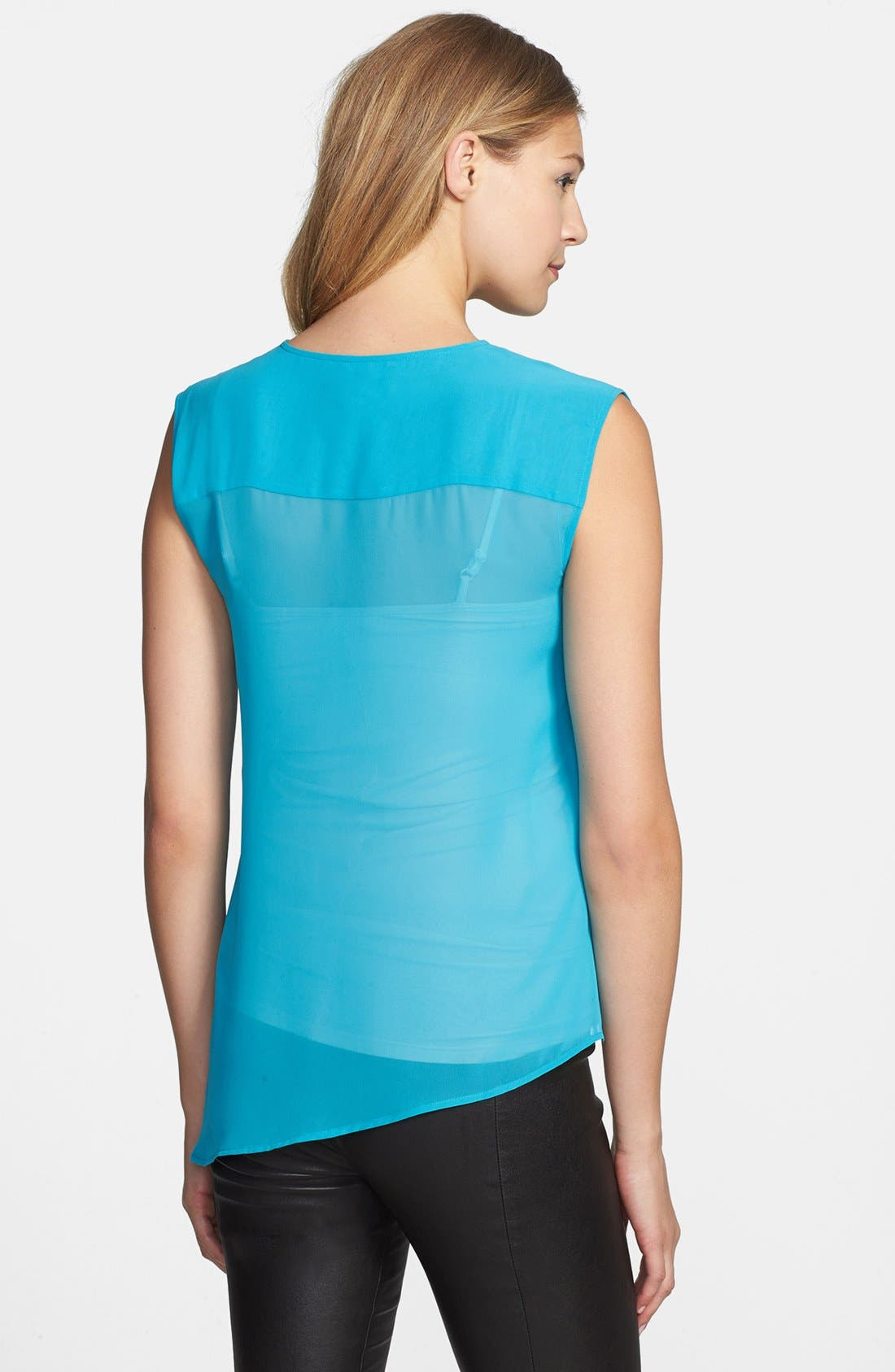 Alternate Image 2  - Kenneth Cole New York 'Roxanne' Asymmetrical Ruffle Front Blouse
