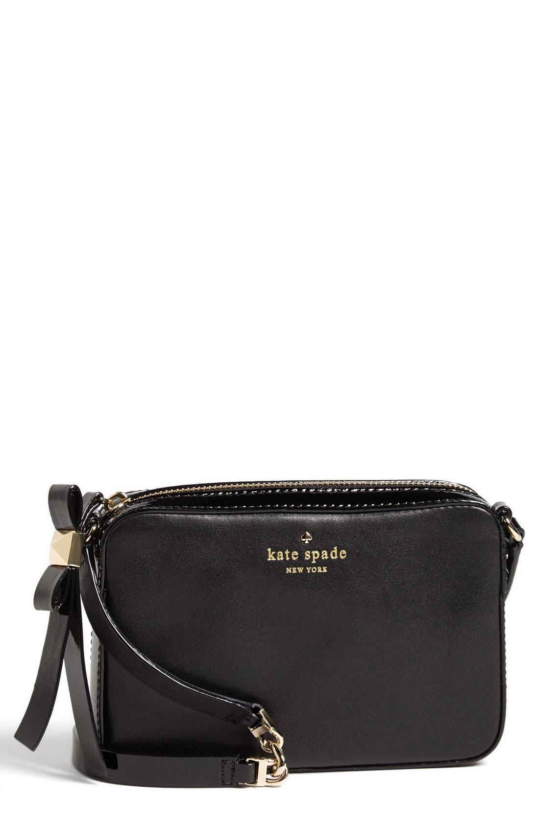 Alternate Image 1 Selected - kate spade new york 'clover' leather crossbody bag