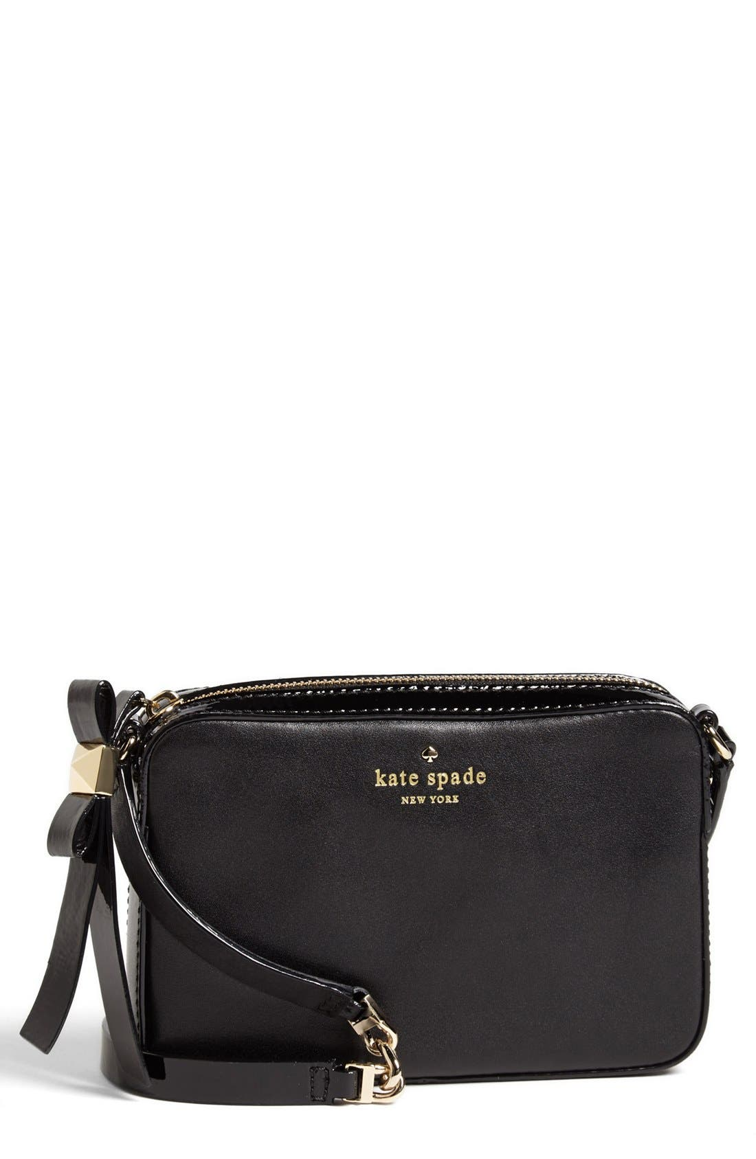 Main Image - kate spade new york 'clover' leather crossbody bag