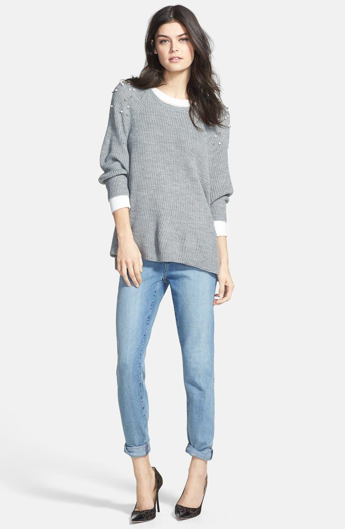 Alternate Image 4  - NYDJ 'Anabelle' Stretch Skinny Jeans (Sacramento)