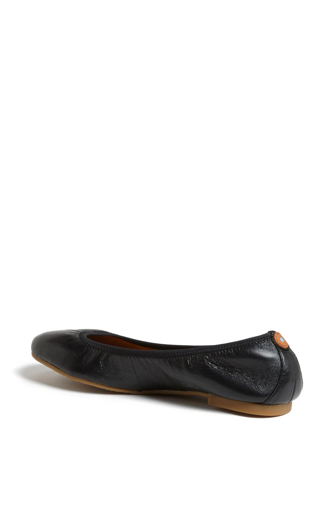 Alternate Image 2  - Juil 'The Flat' Earthing Leather Ballet Flat