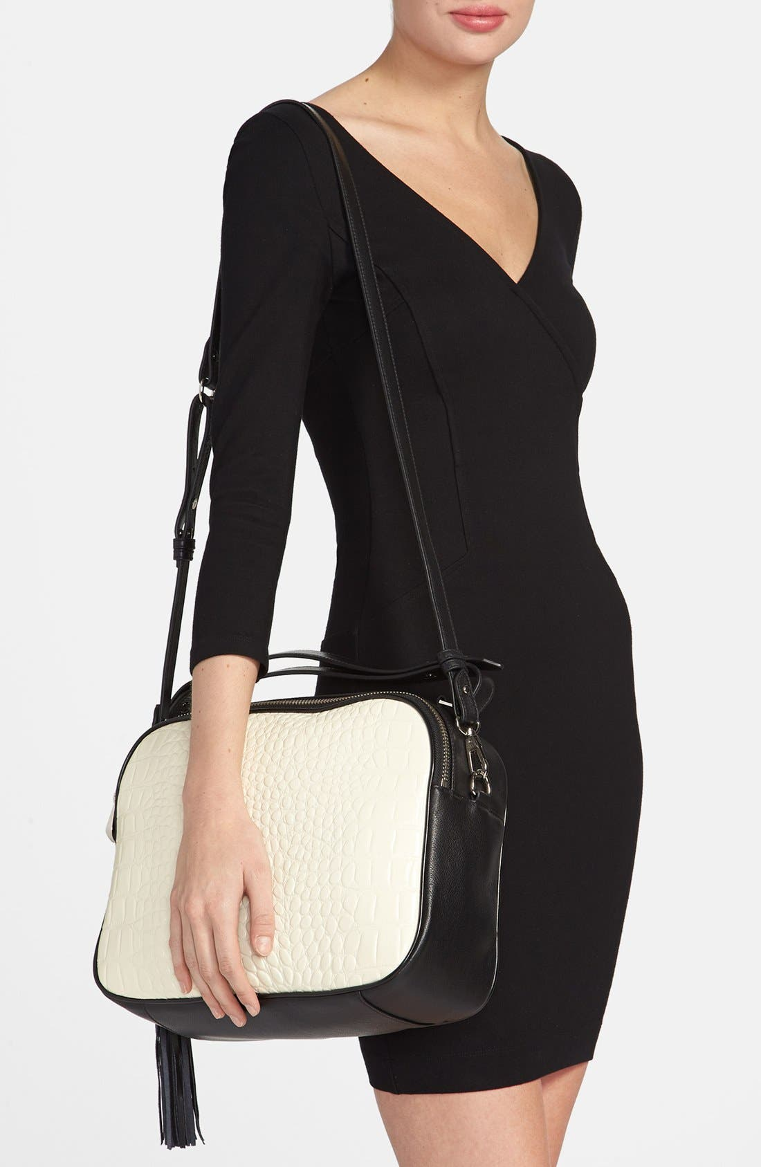 Alternate Image 2  - Pour la Victoire 'Nora' Leather Crossbody Bag