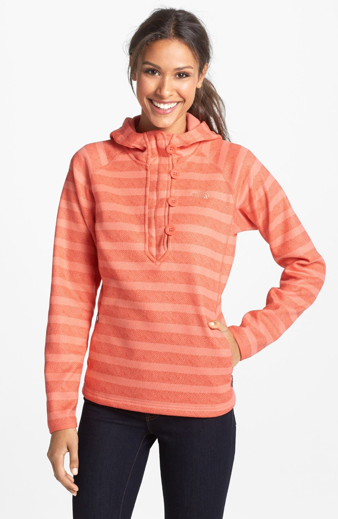 Alternate Image 1 Selected - The North Face 'Novelty Crescent Sunset' Hoodie