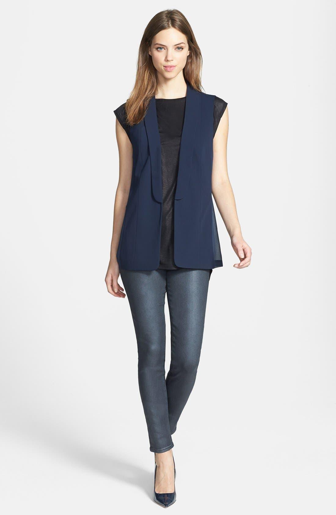 Alternate Image 4  - Trouvé Blazer-Style Vest