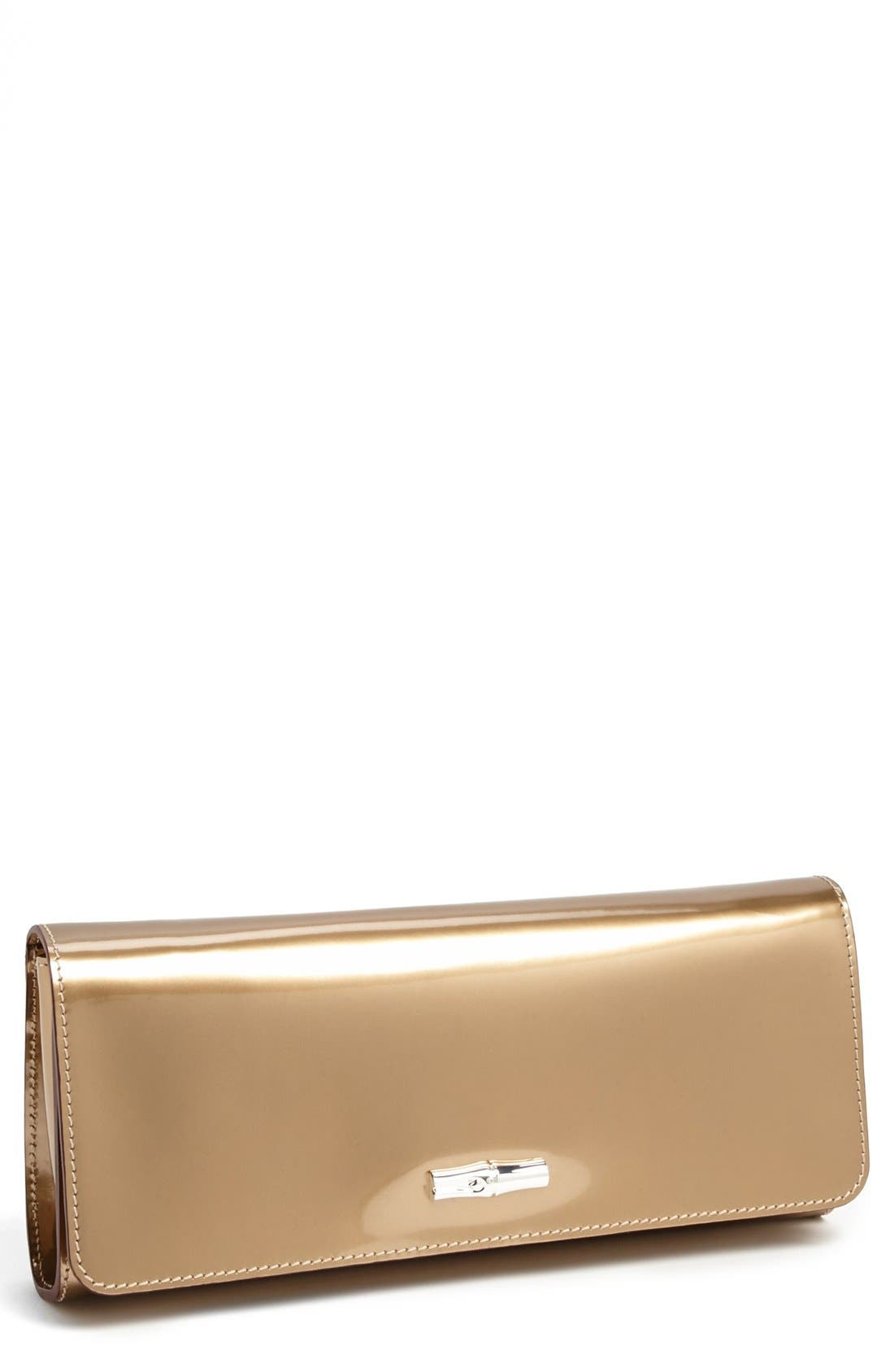 Main Image - Longchamp 'Roseau Box' Clutch