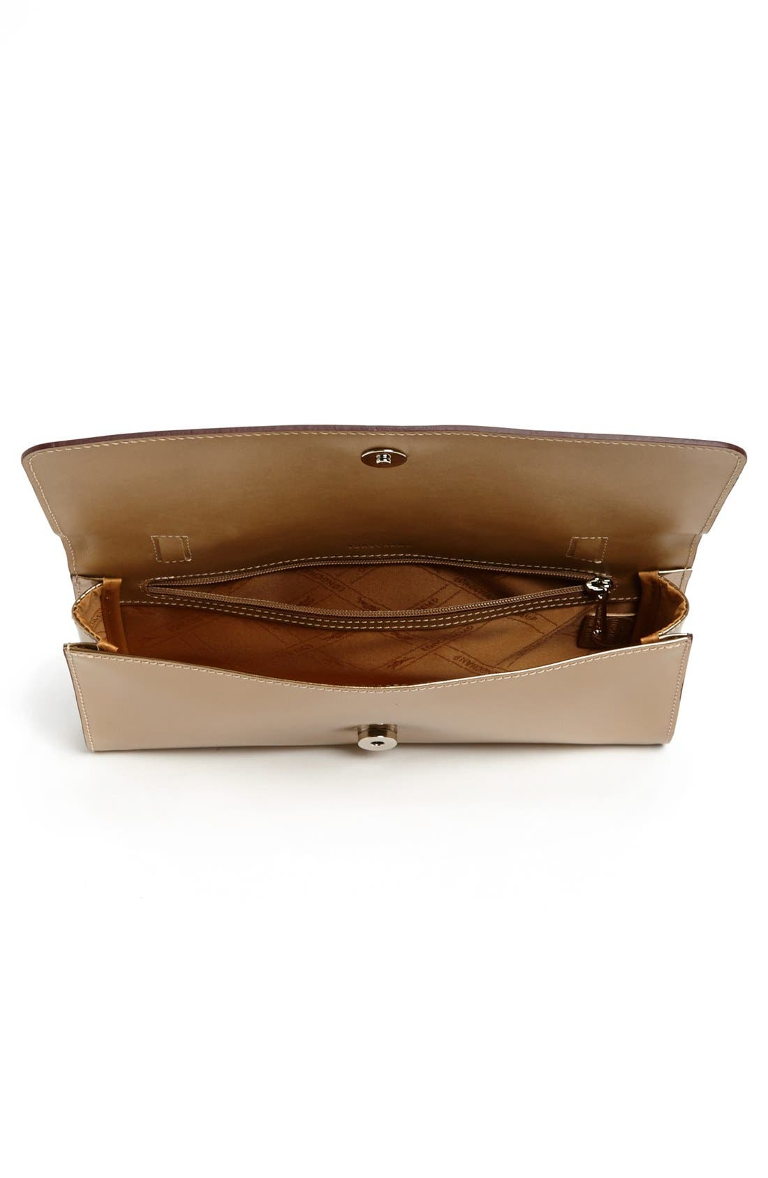 Alternate Image 3  - Longchamp 'Roseau Box' Clutch