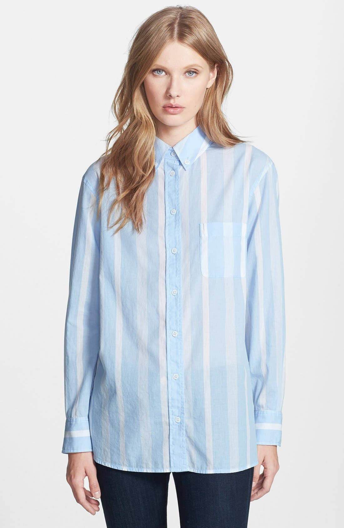 Alternate Image 1 Selected - Equipment 'Margaux' Stripe Cotton Shirt
