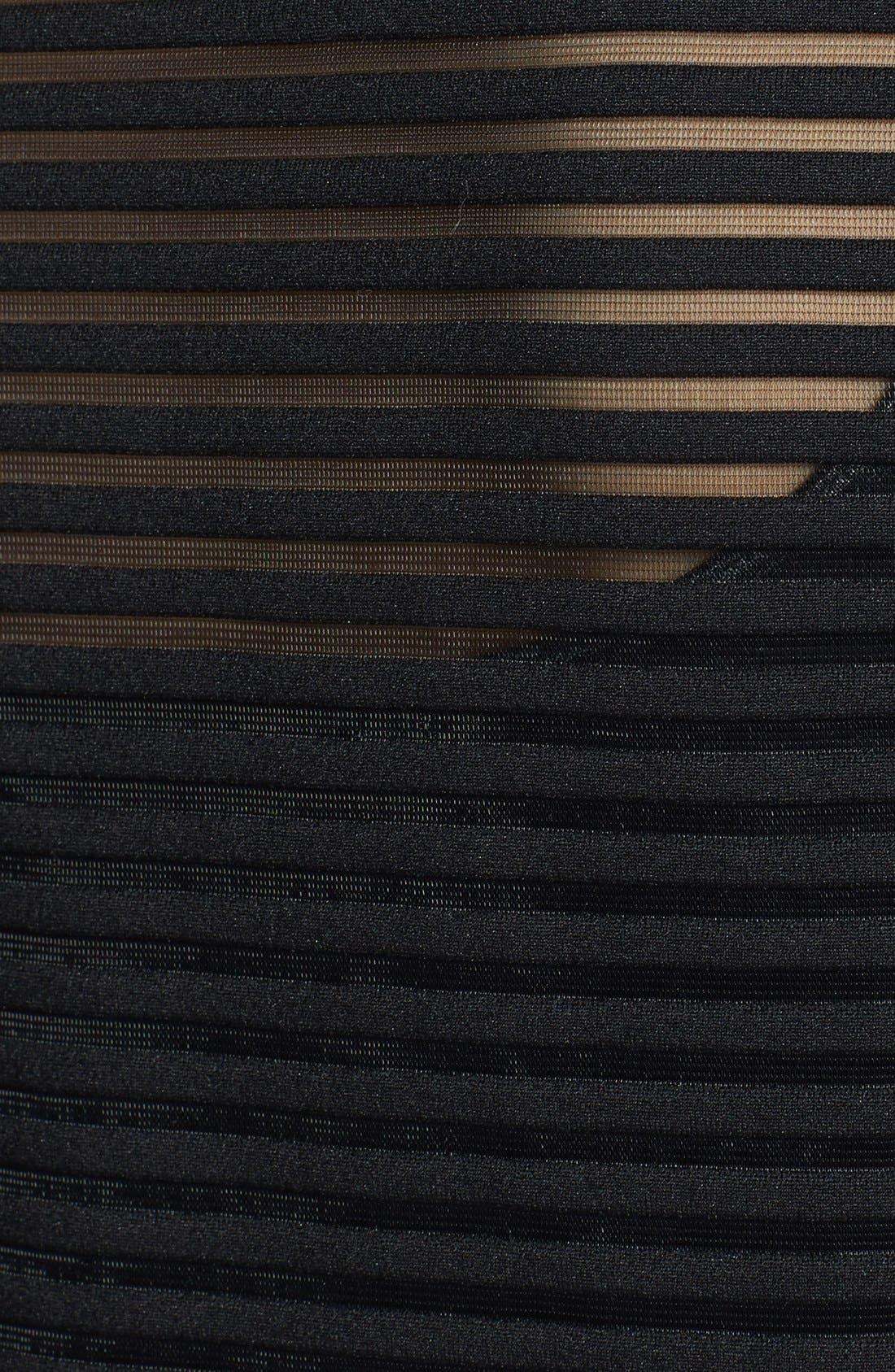 Alternate Image 3  - Trouvé Sheer Stripe Tee