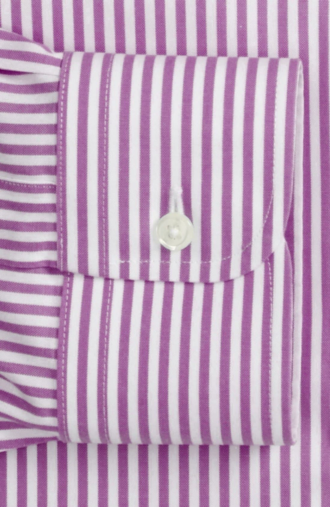 Alternate Image 2  - Nordstrom Men's Shop Smartcare™ Traditional Fit Stripe Dress Shirt
