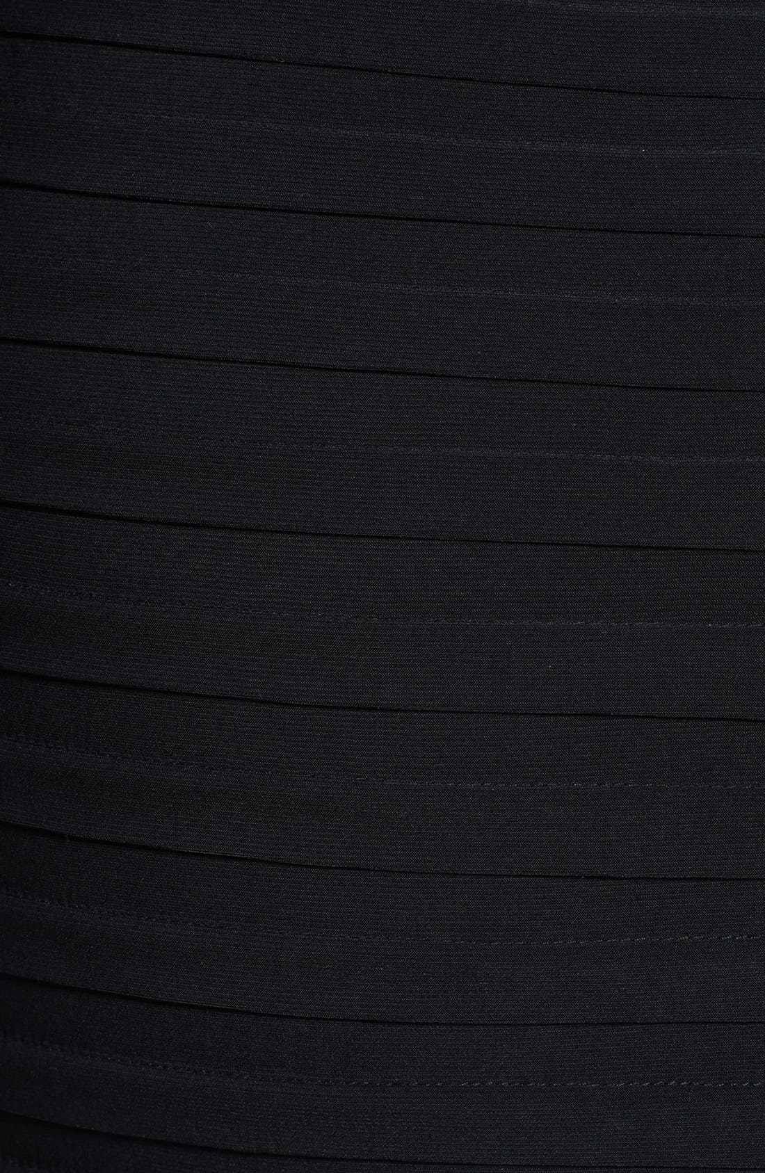 Alternate Image 3  - Xscape Beaded Yoke Chiffon Gown (Plus Size)