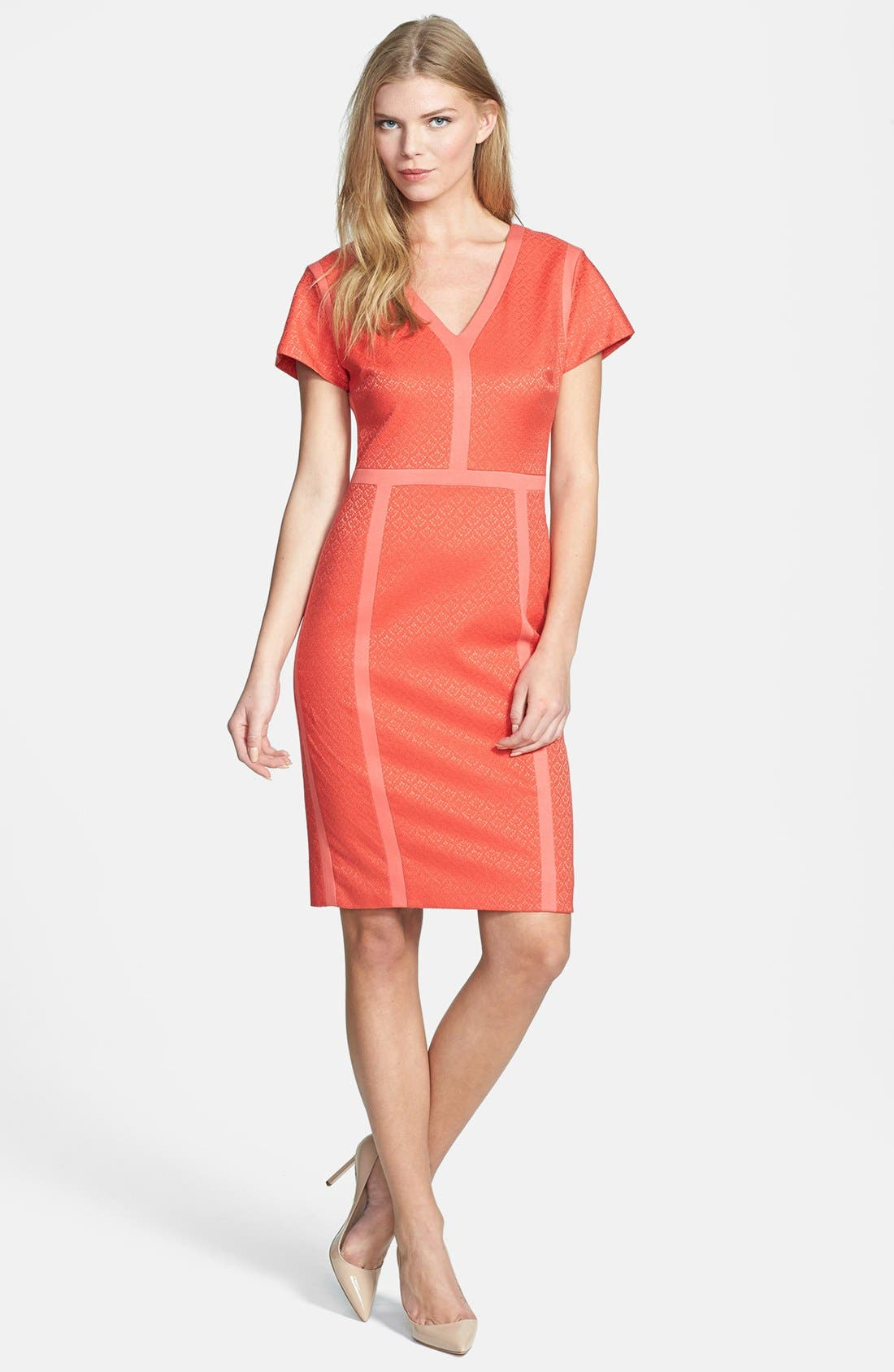 Alternate Image 1 Selected - Rachel Roy Panel Dress