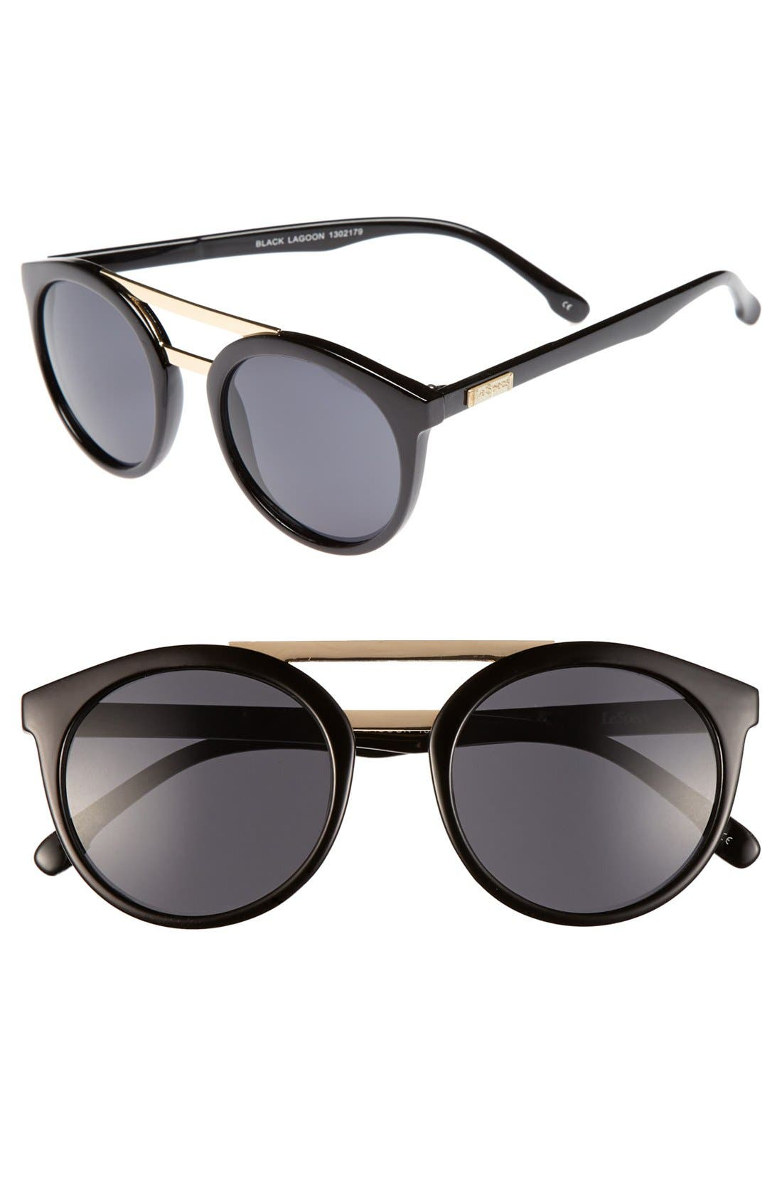 Alternate Image 1 Selected - Le Specs 49mm Retro Sunglasses