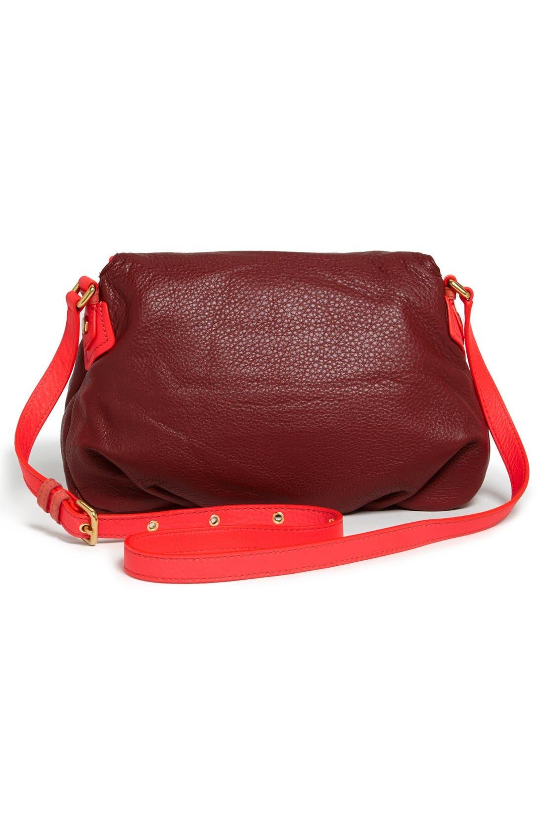 Alternate Image 4  - MARC BY MARC JACOBS 'Classic Q - Natasha' Leather Crossbody Bag