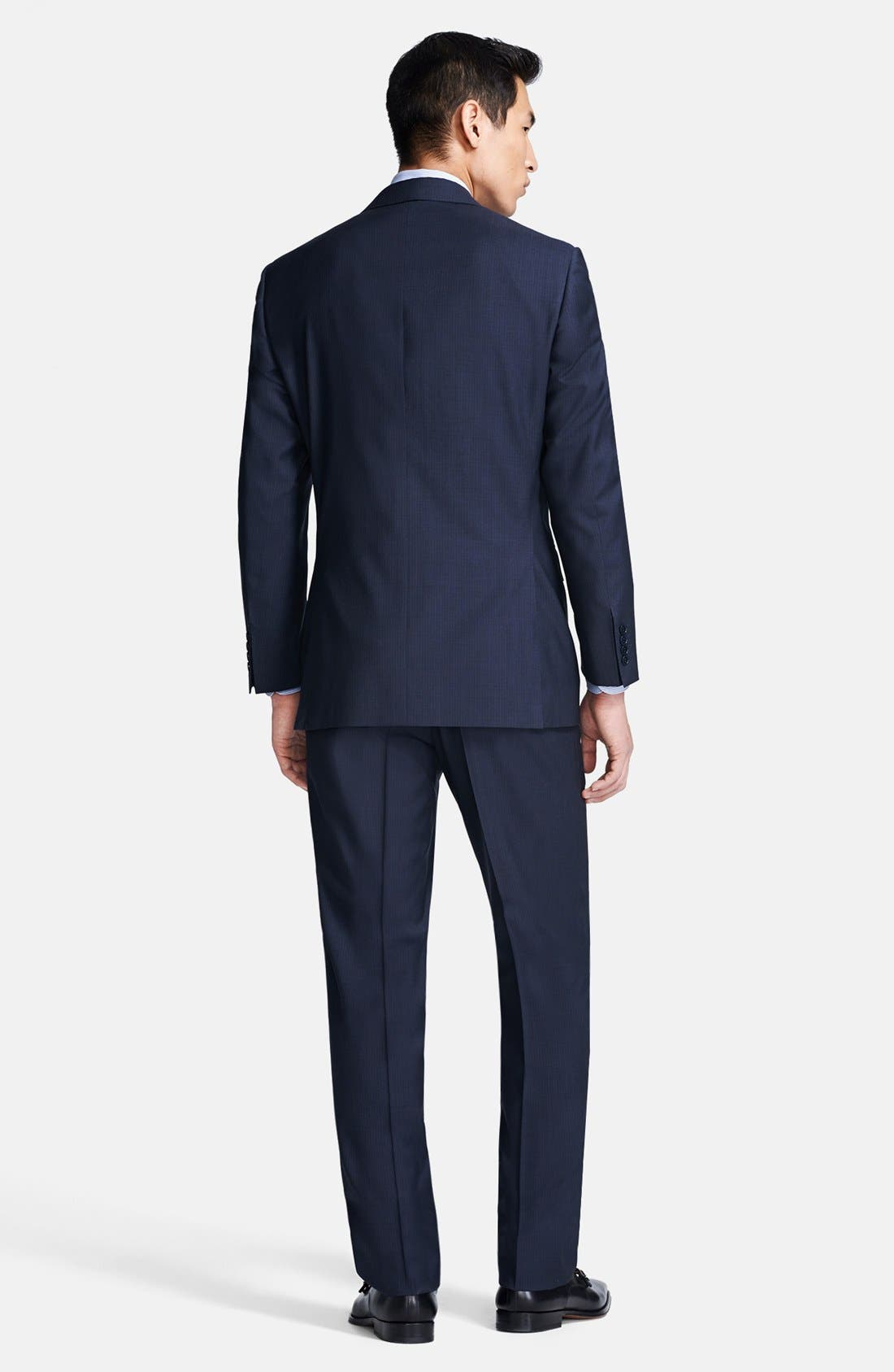 Alternate Image 2  - Canali Classic Fit Stripe Suit