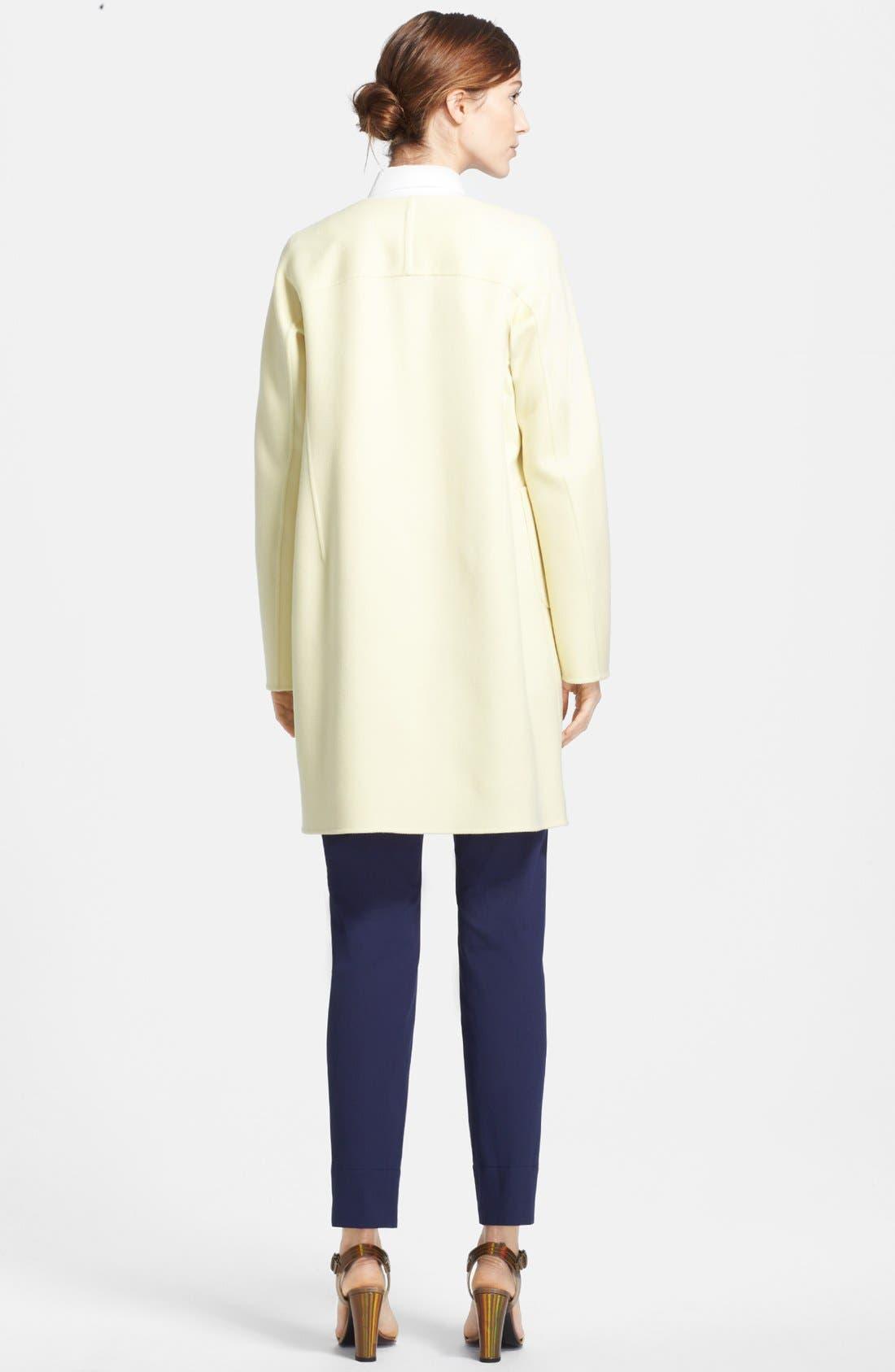 Alternate Image 2  - Jil Sander Double Face Cashmere Coat