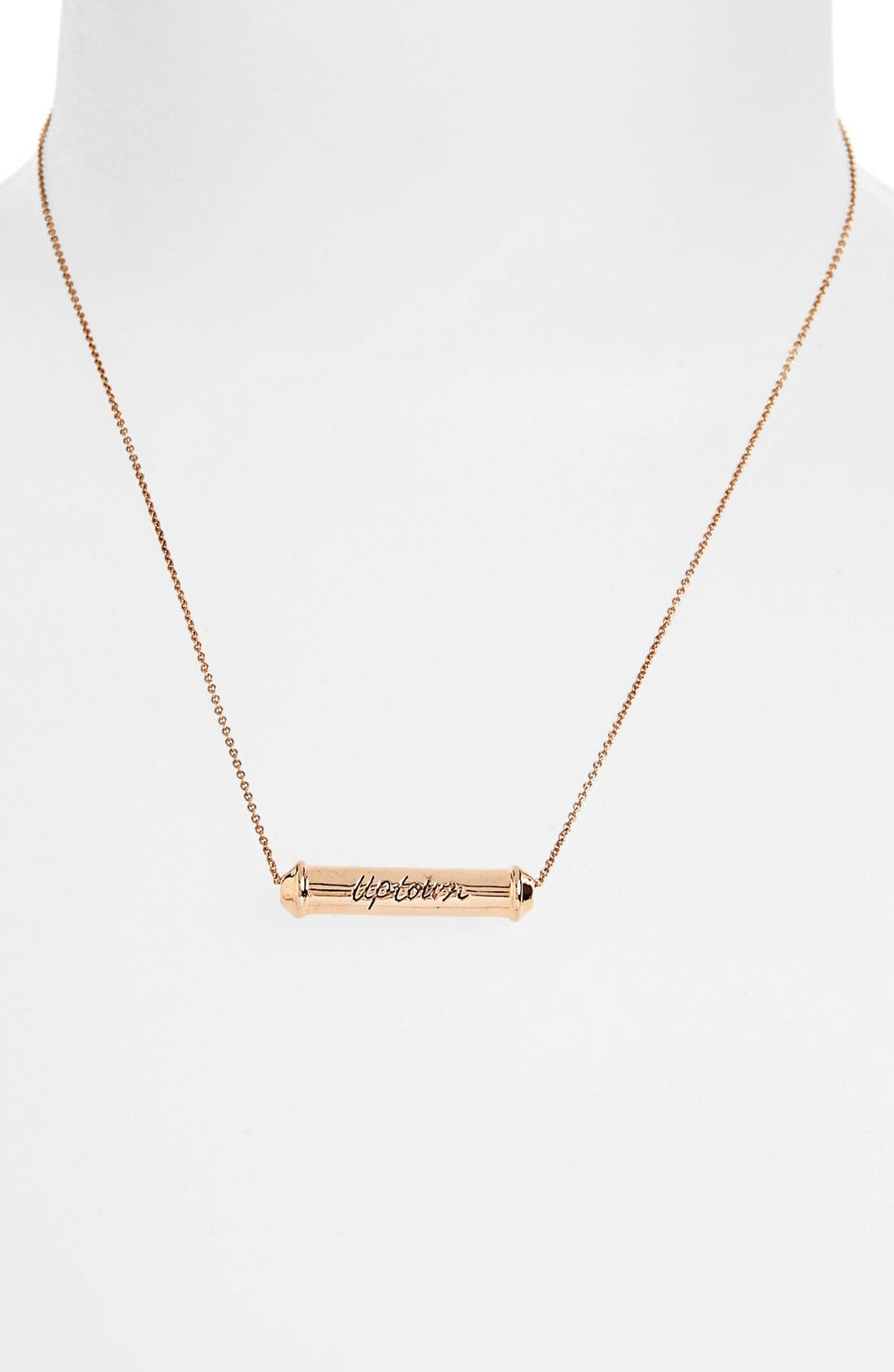 Main Image - Rebecca Minkoff 'Uptown & Downtown' Reversible Pendant Necklace