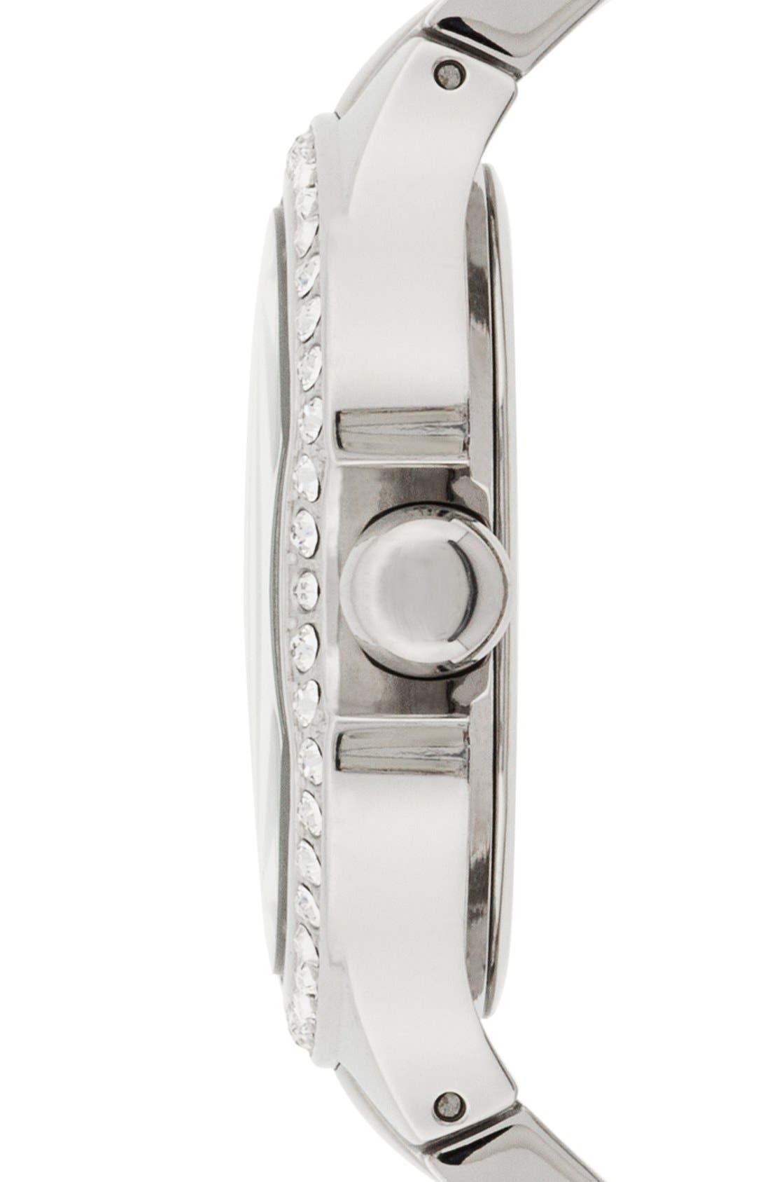 Alternate Image 3  - Isaac Mizrahi New York Round Roman Numeral Bracelet Watch, 38mm