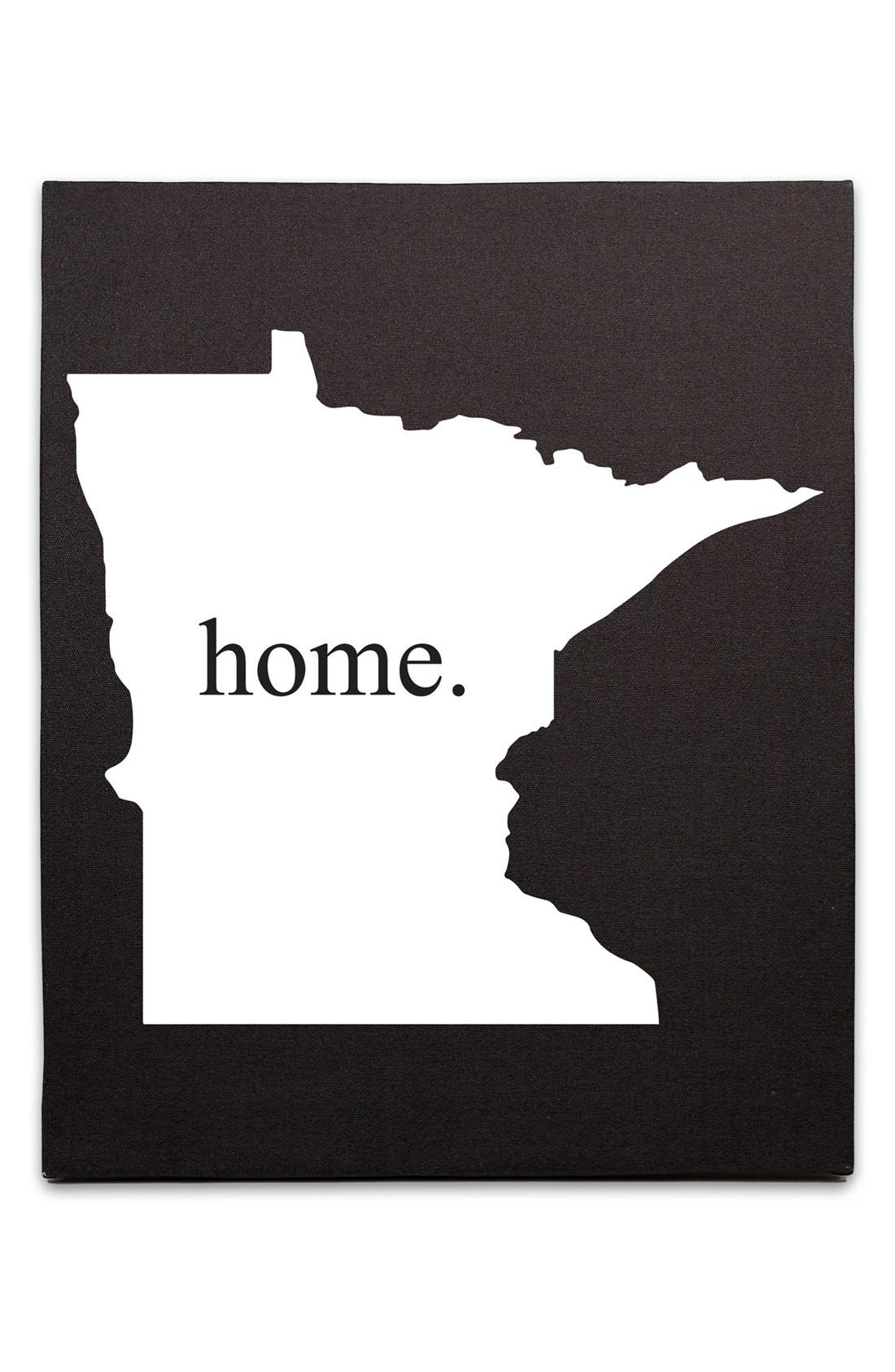 Alternate Image 1 Selected - Cathy's Concepts 'Home State' Canvas Wall Art