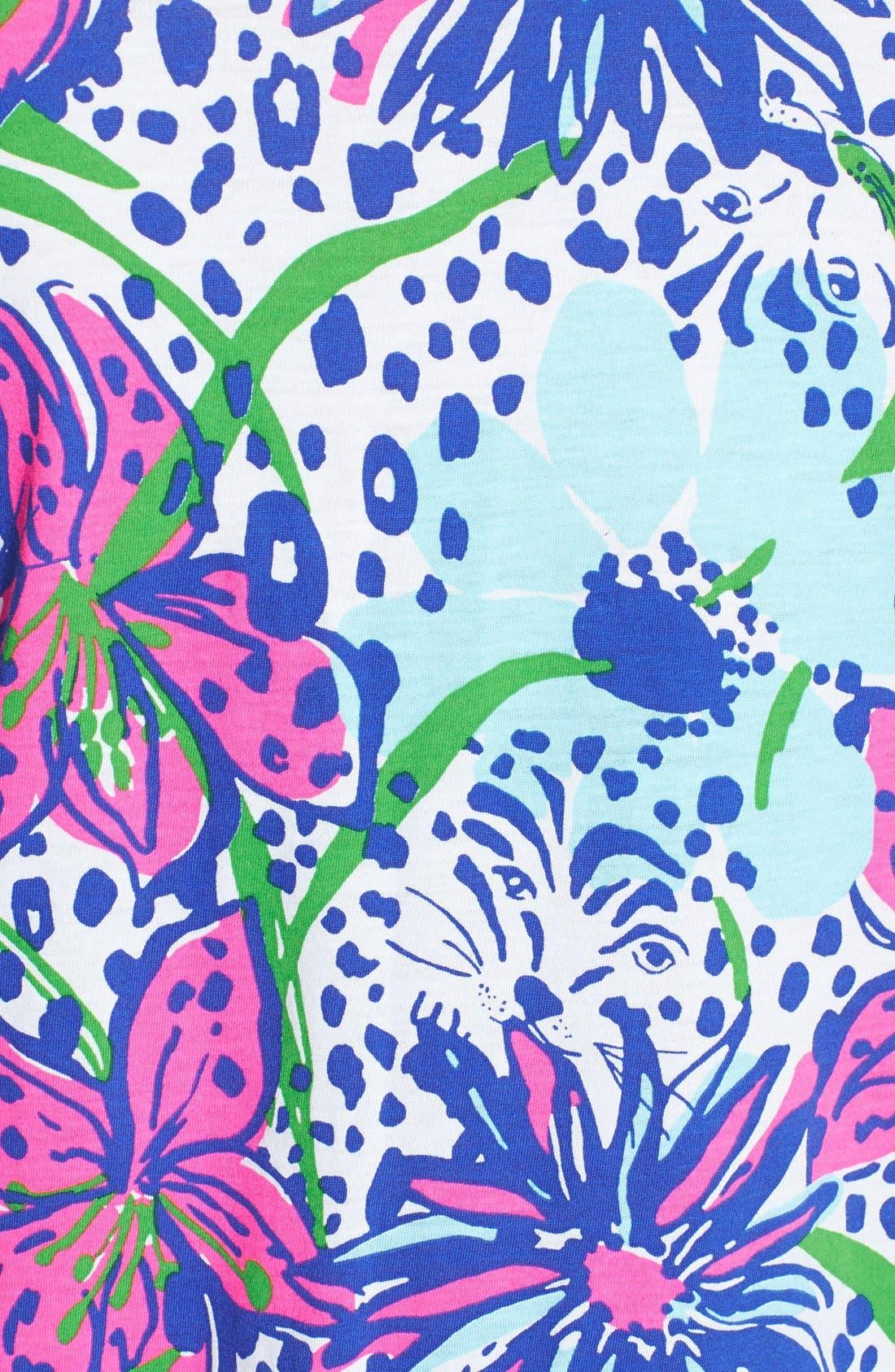 Alternate Image 3  - Lilly Pulitzer® 'Robyn' Print Cotton Shift Dress