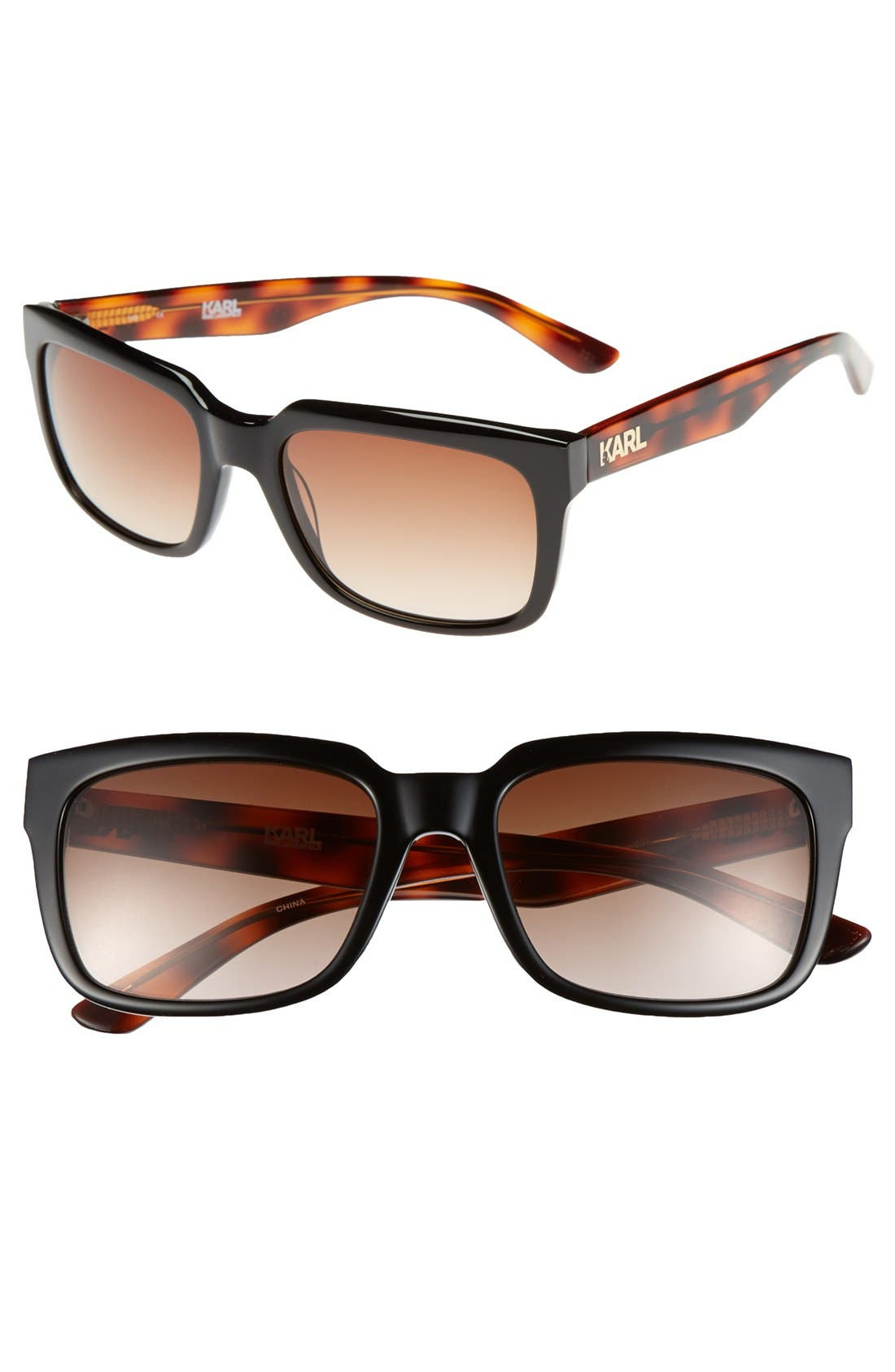 Alternate Image 1 Selected - Karl Lagerfeld 54mm Sunglasses