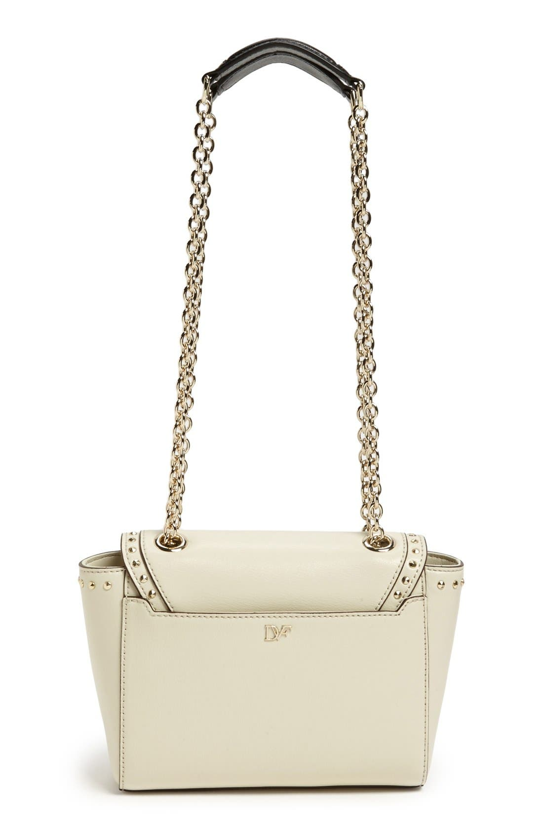 Alternate Image 4  - Diane von Furstenberg '440 - Mini' Studded Crossbody Bag