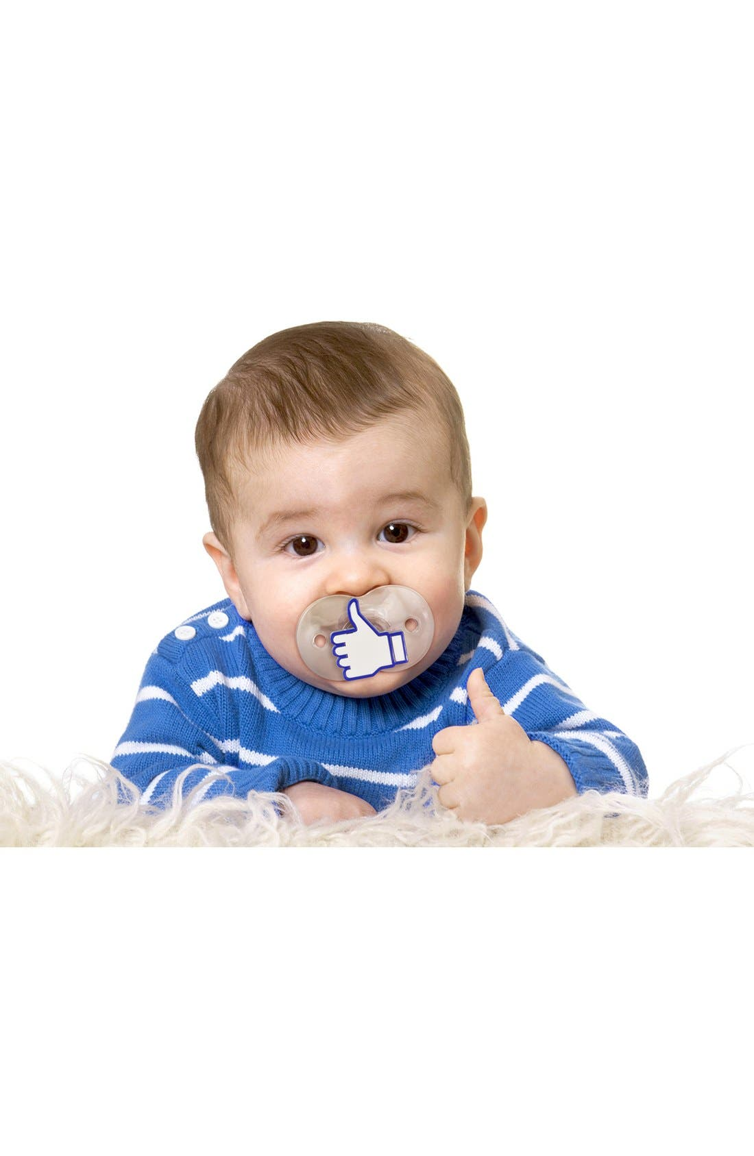 Alternate Image 4  - Fred & Friends 'Chill, Baby - Like' Pacifier