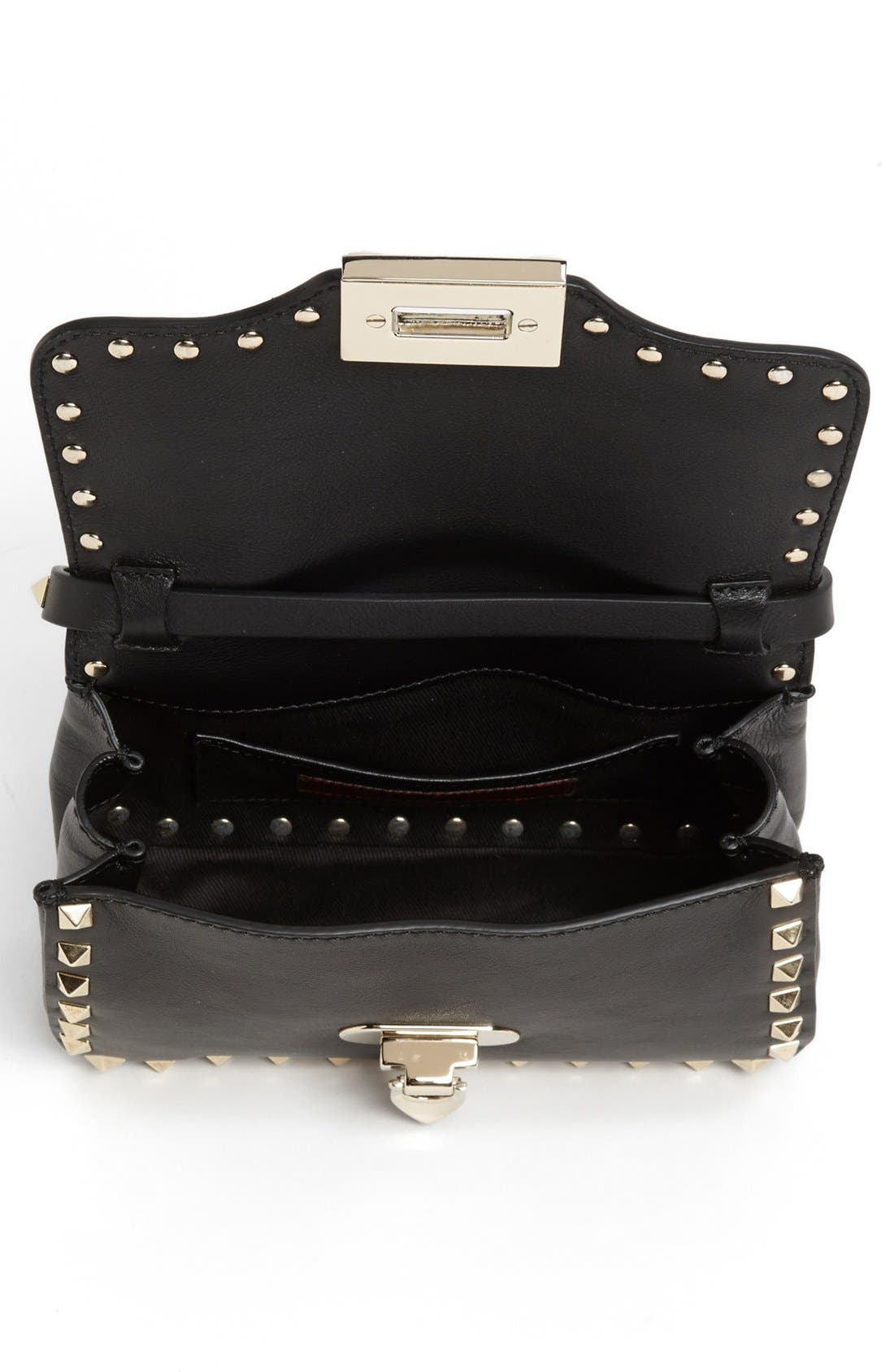 Alternate Image 3  - Valentino 'Small Rockstud' Flap Bag