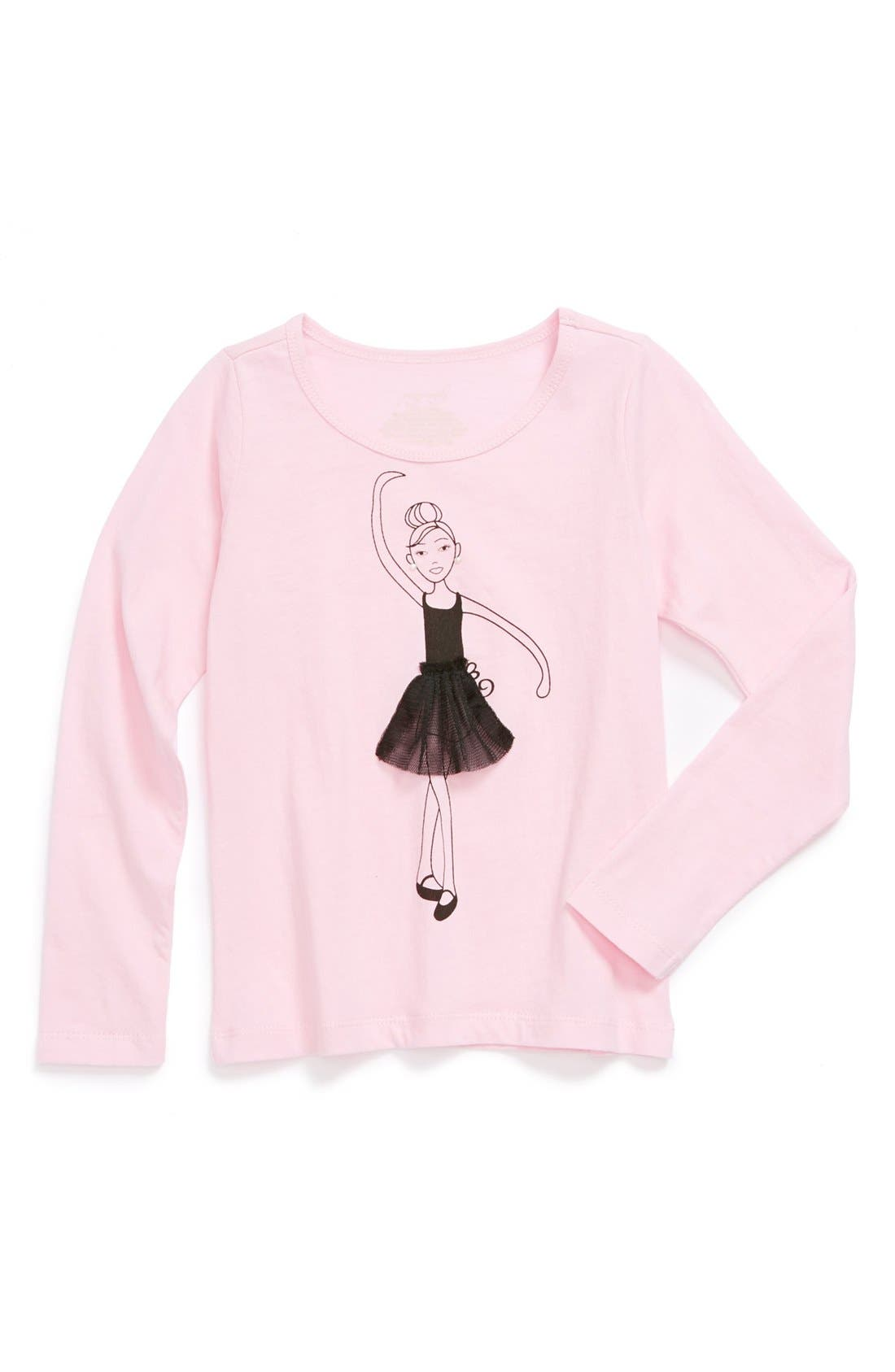 Alternate Image 1 Selected - Penny Candy Graphic Tee (Little Girls & Big Girls)