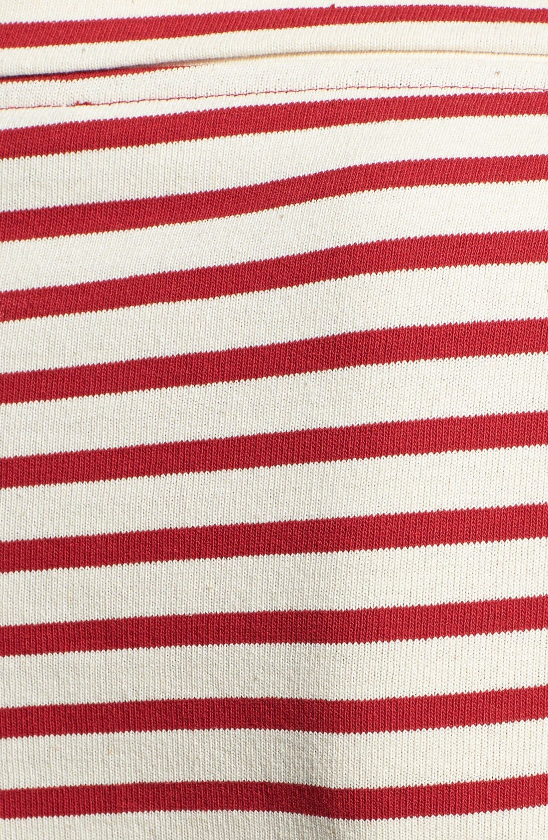 Alternate Image 3  - Burberry Brit Stripe Cotton Boatneck Tee
