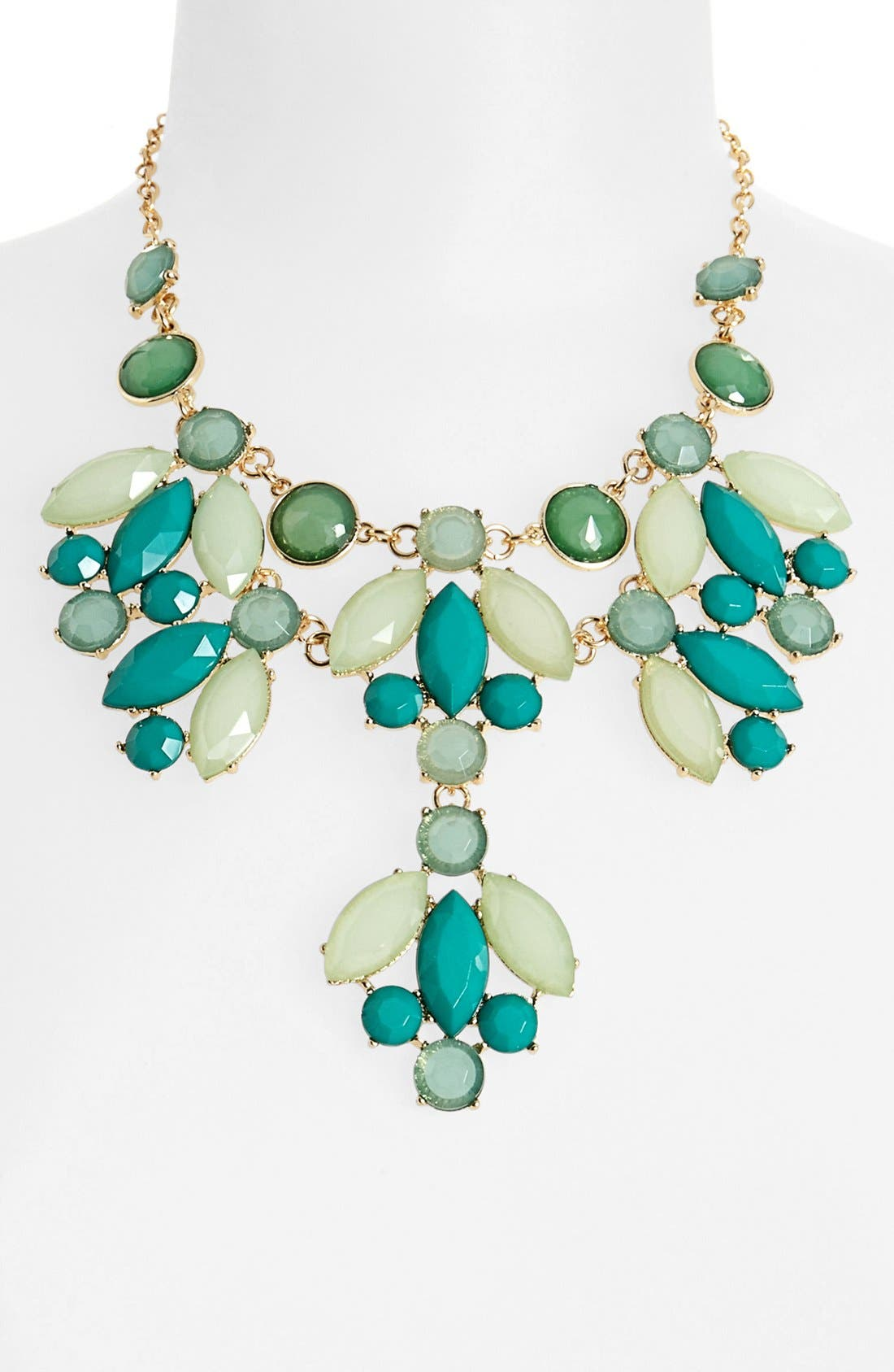 Main Image - Cara Stone Bib Necklace