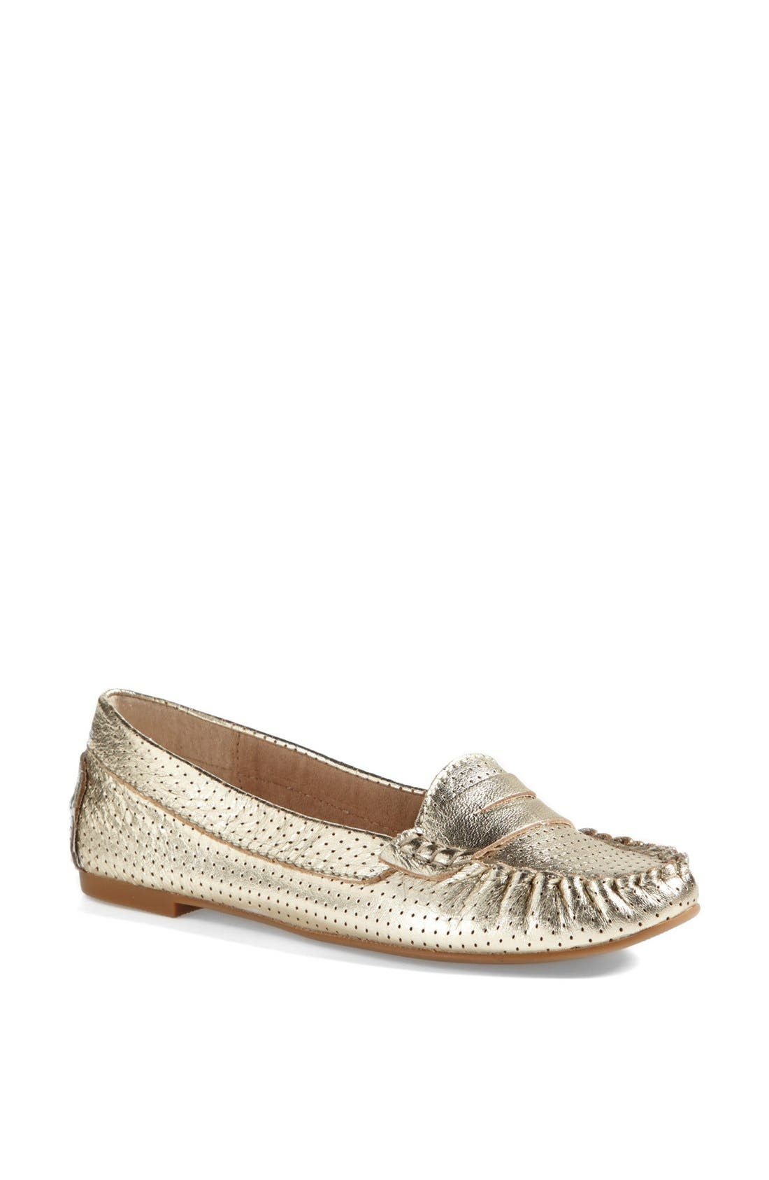 Alternate Image 1 Selected - Steve Madden 'Murphey' Leather Flat