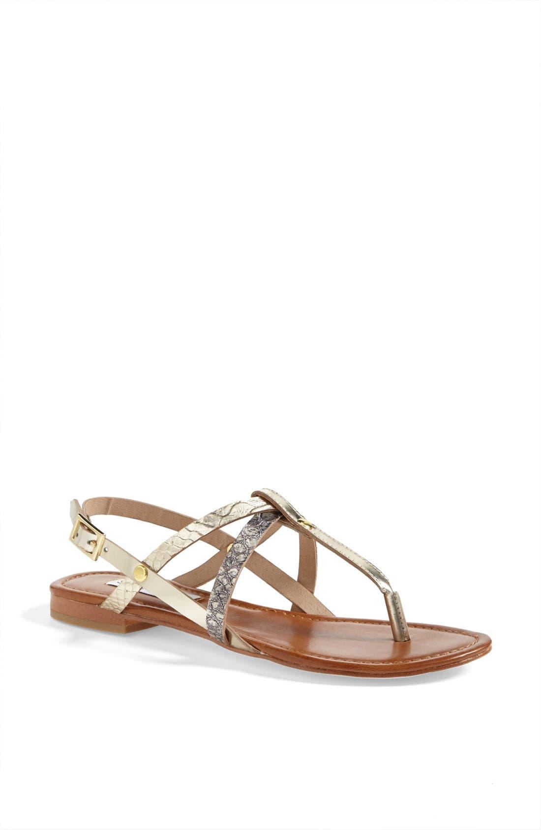 Alternate Image 1 Selected - Steve Madden 'Kroatia' Leather Sandal