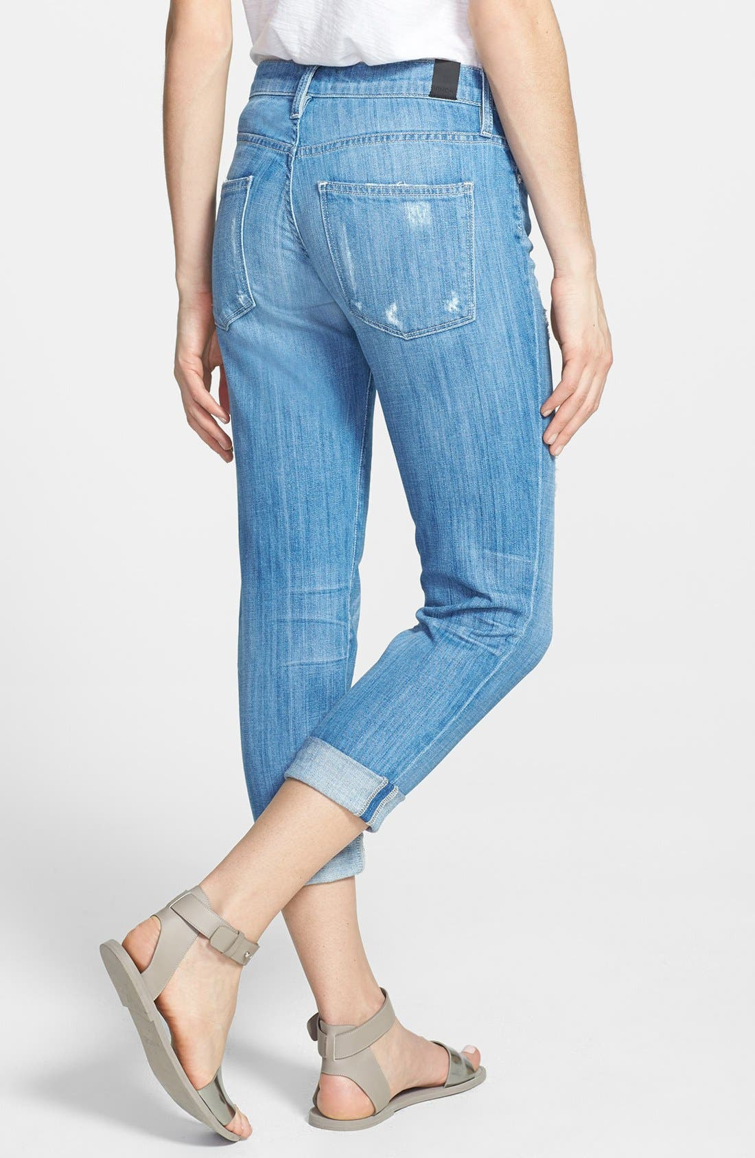 Alternate Image 2  - Vince 'Mason' Relaxed Rolled Jeans