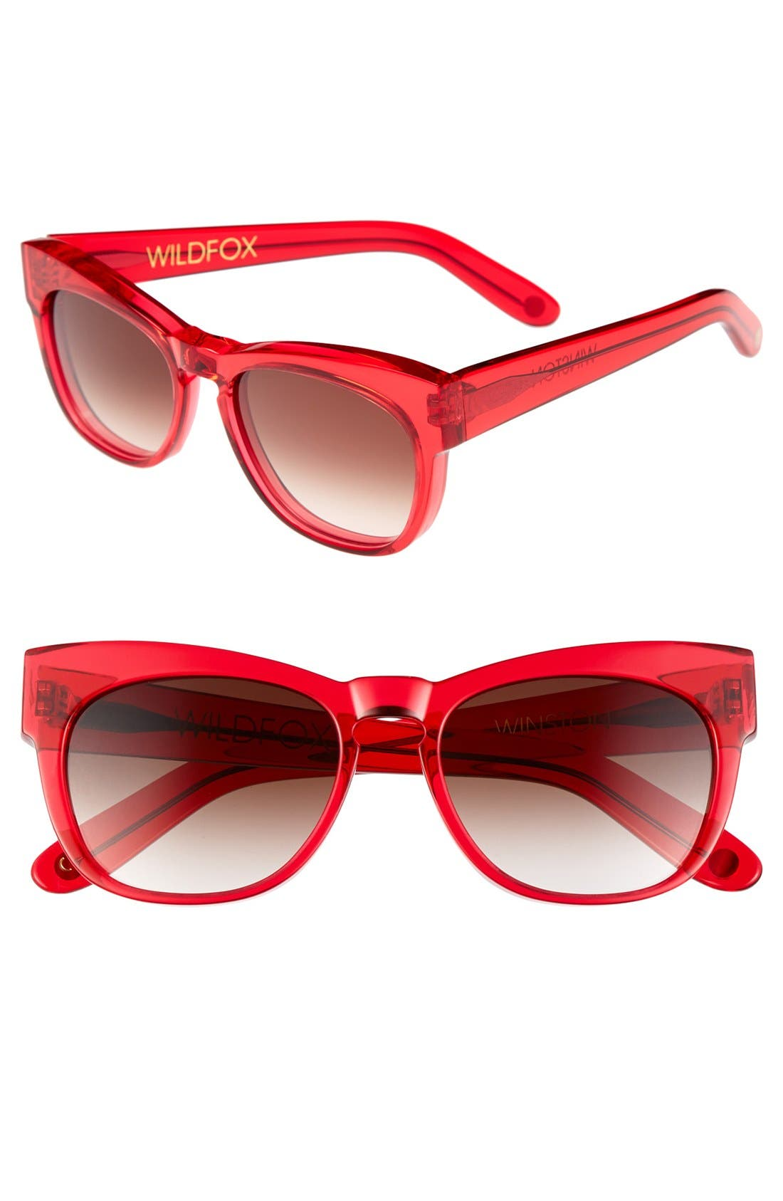 Main Image - Wildfox 'Winston' 56mm Sunglasses
